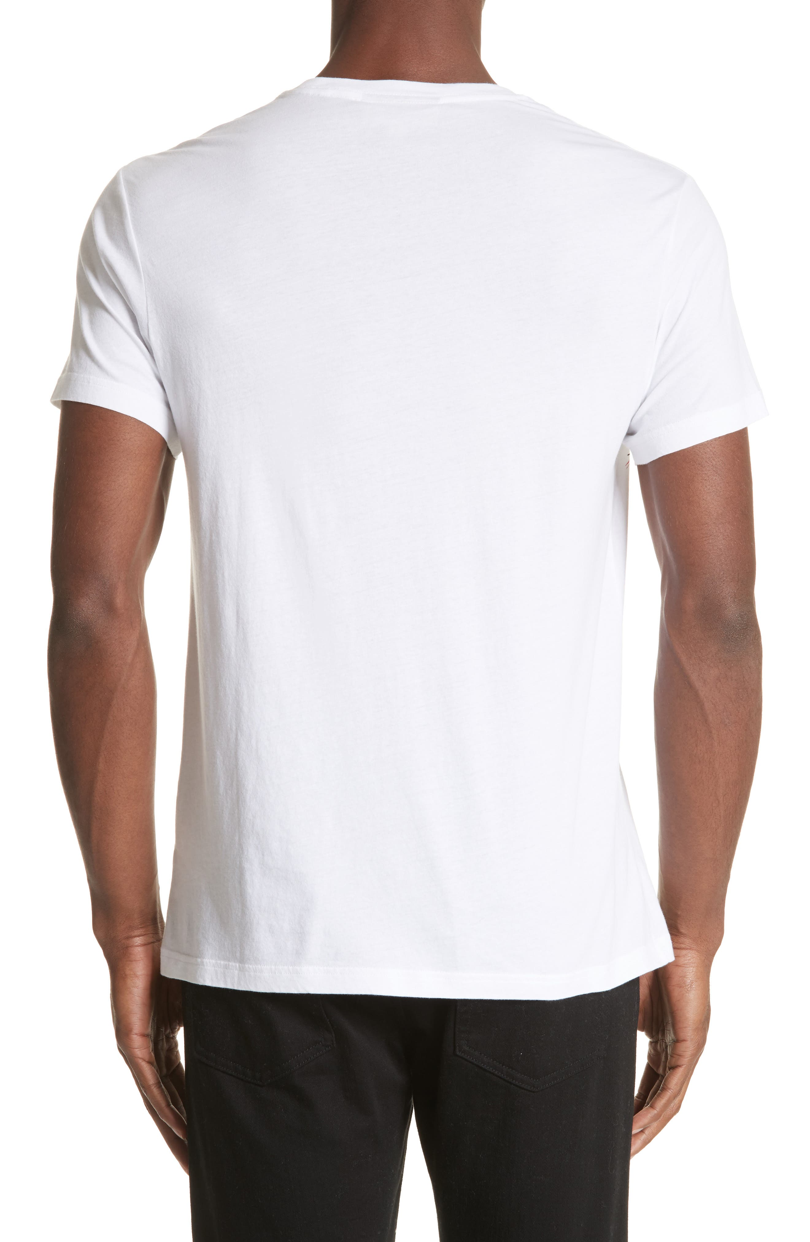 Darnley Standard Fit Tee,                             Alternate thumbnail 2, color,                             White