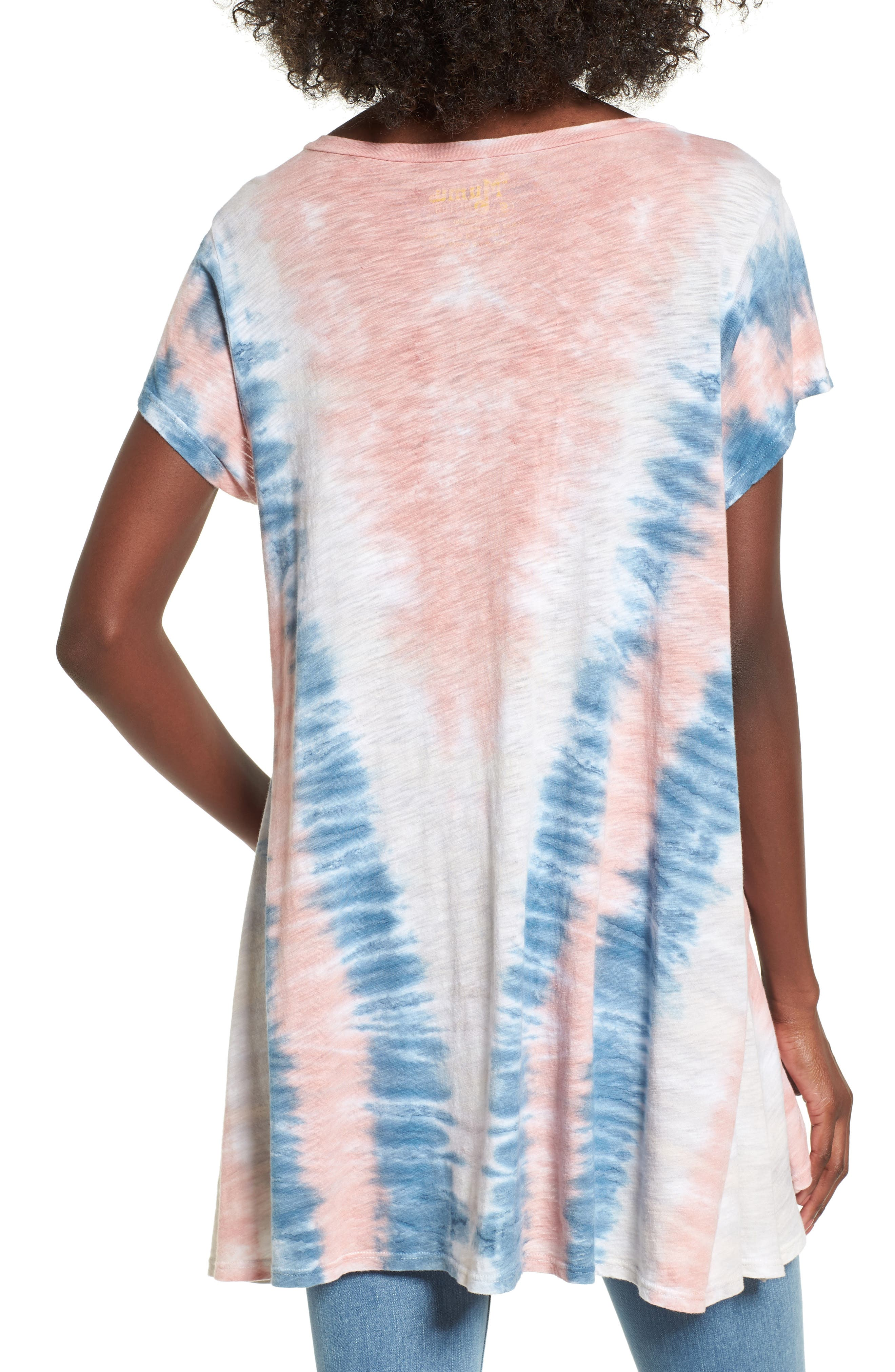Hetland Swing Tee,                             Alternate thumbnail 2, color,                             Desert Sky Tie Dye