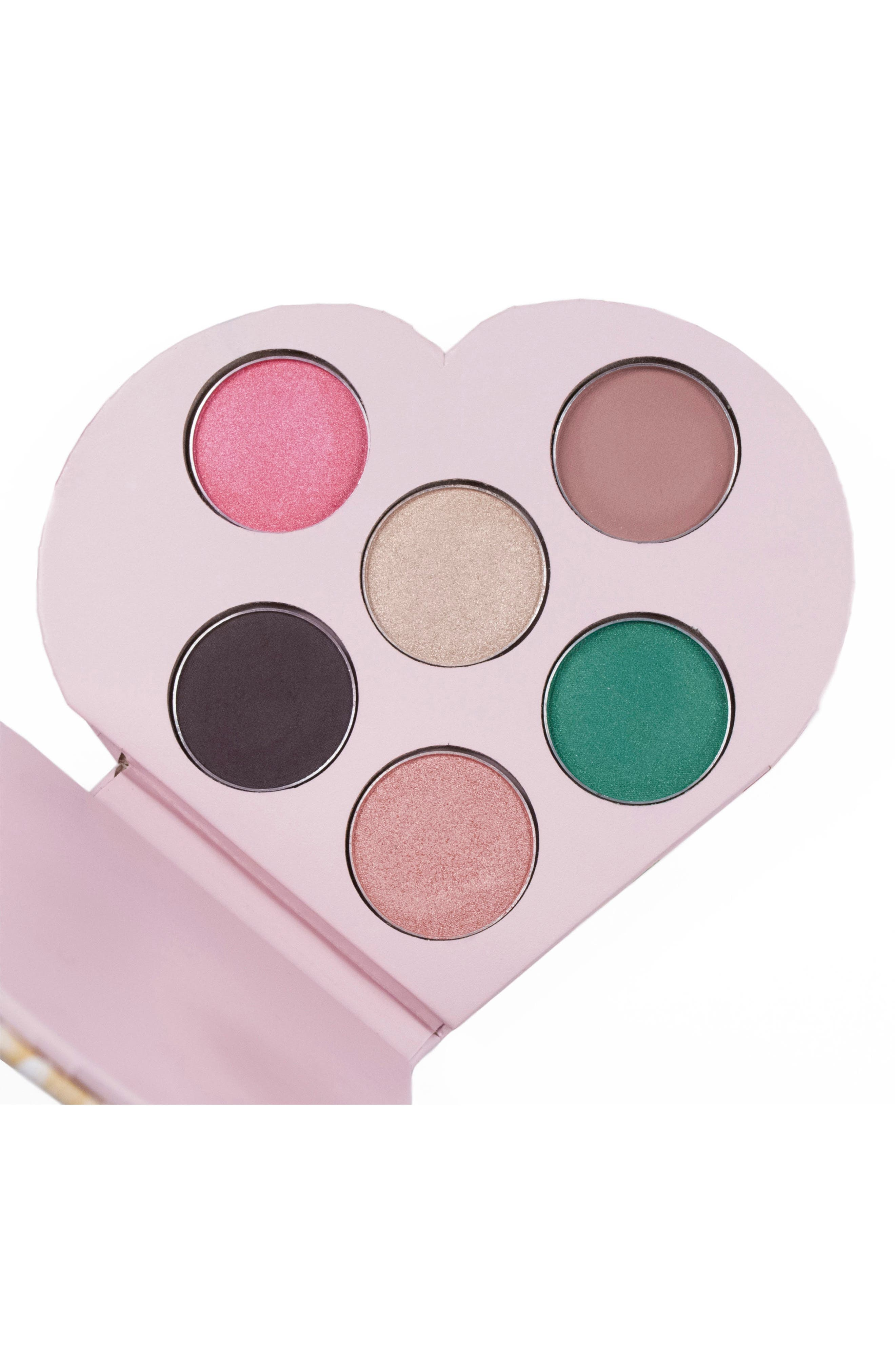 Smitten Heart Eyeshadow Palette,                             Alternate thumbnail 3, color,                             No Color