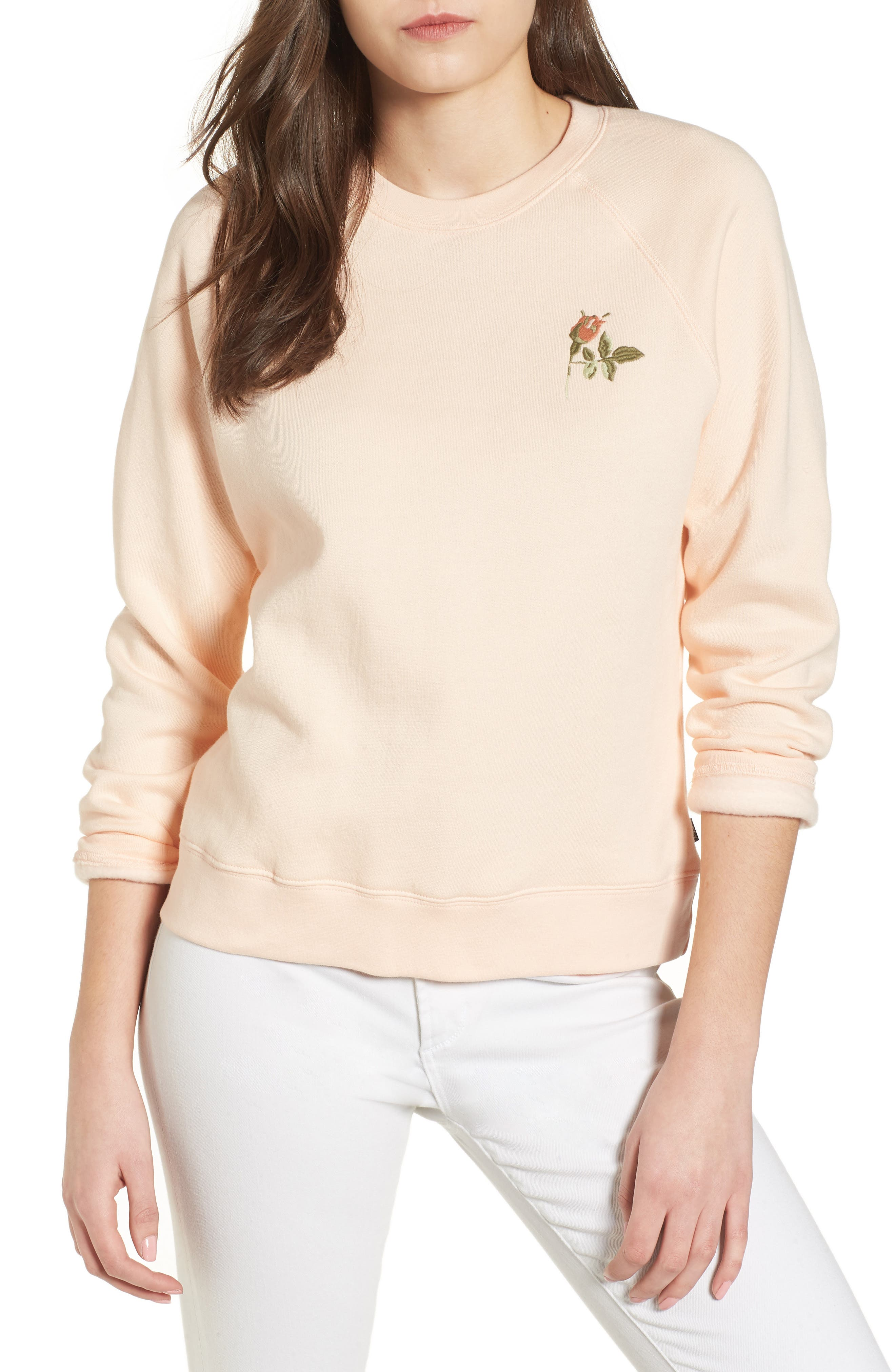 Obey Ava Embroidered Sweatshirt