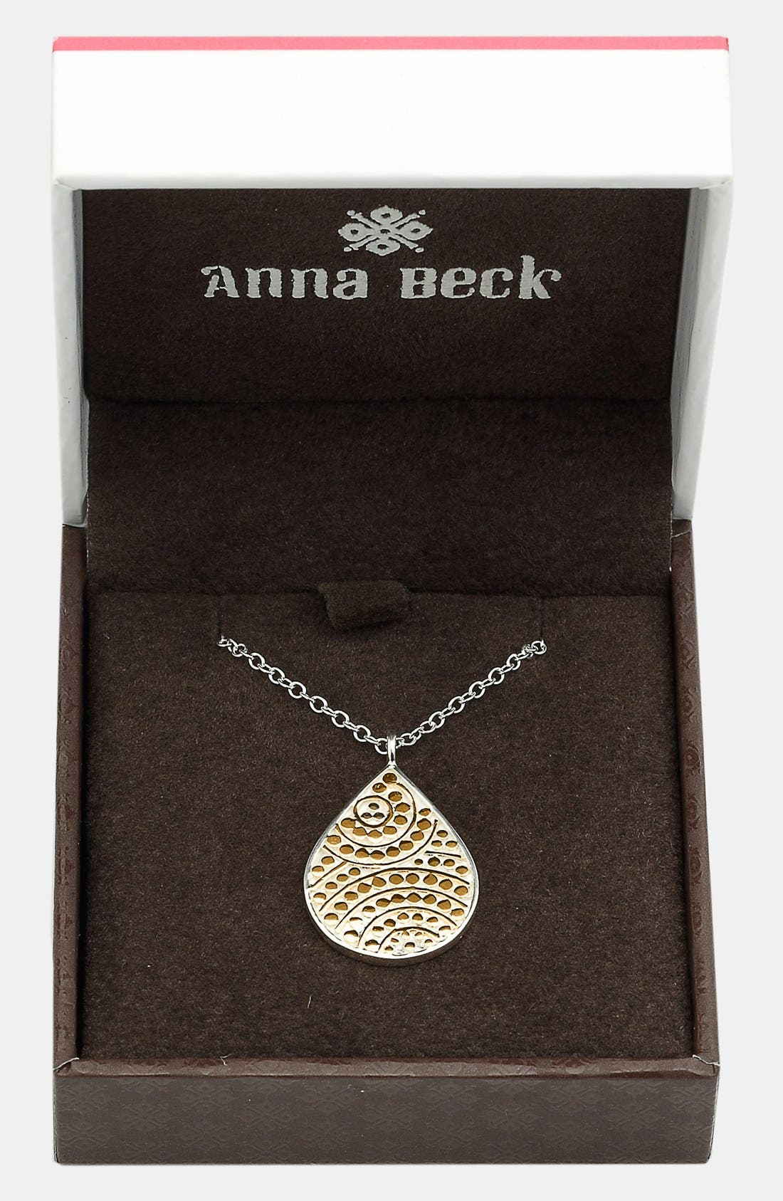 Alternate Image 2  - Anna Beck 'Rajua' Small Reversible Teardrop Necklace