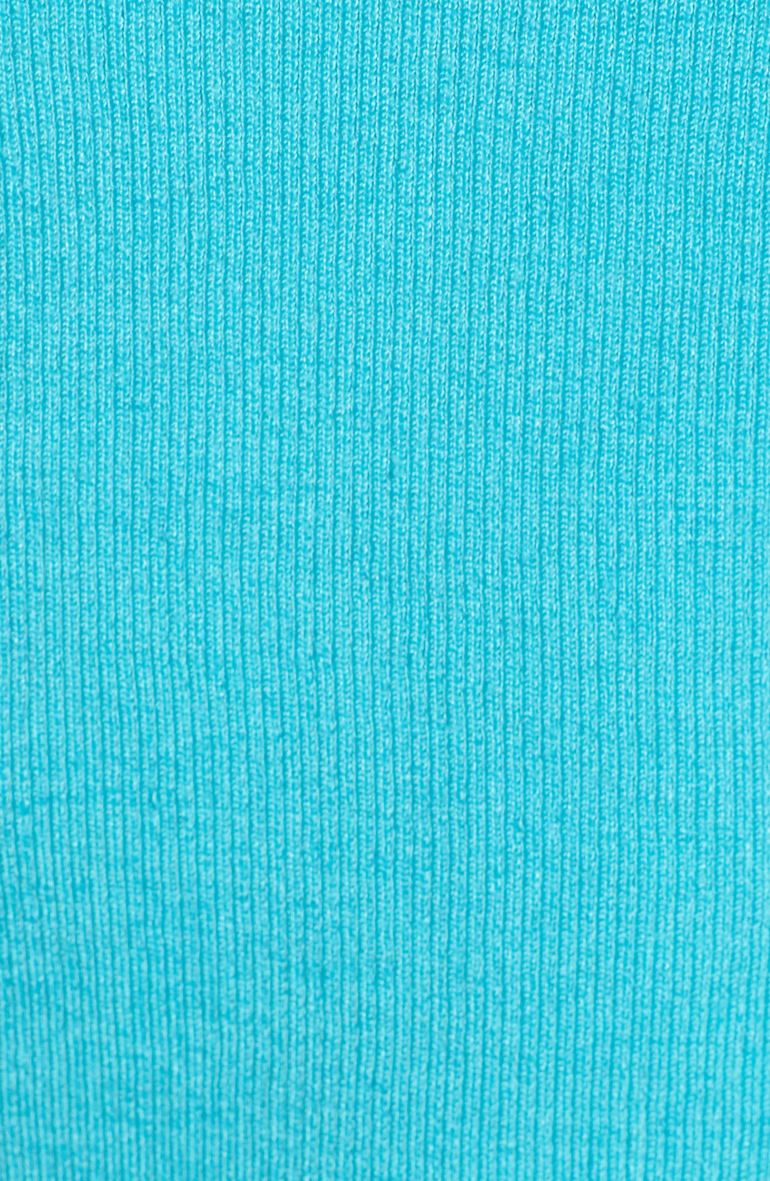 NIC + ZOE Daybreak Open Front Cardigan,                             Alternate thumbnail 6, color,                             Aqua