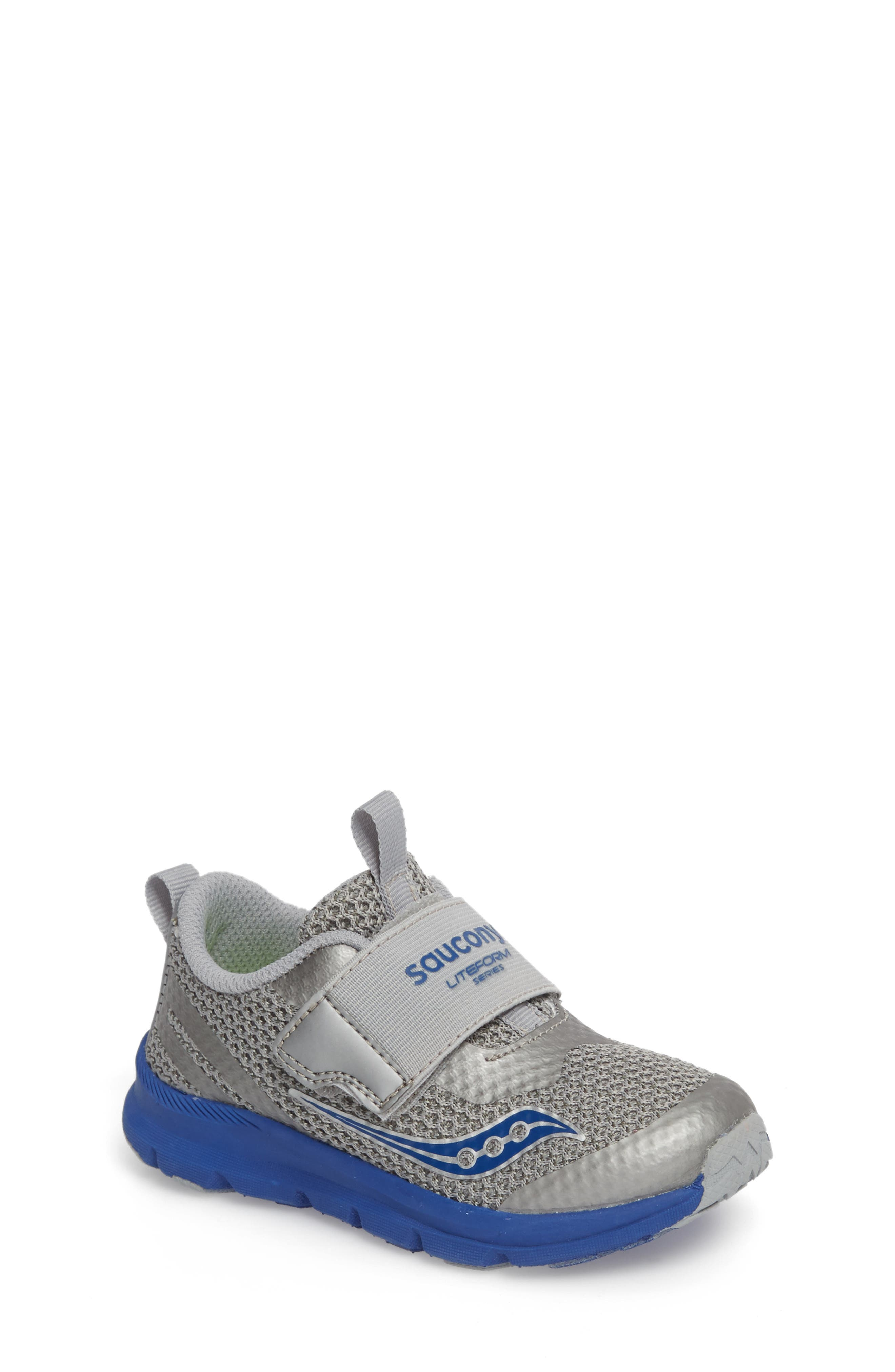 Baby Liteform Sneaker,                             Main thumbnail 1, color,                             Grey/ Blue