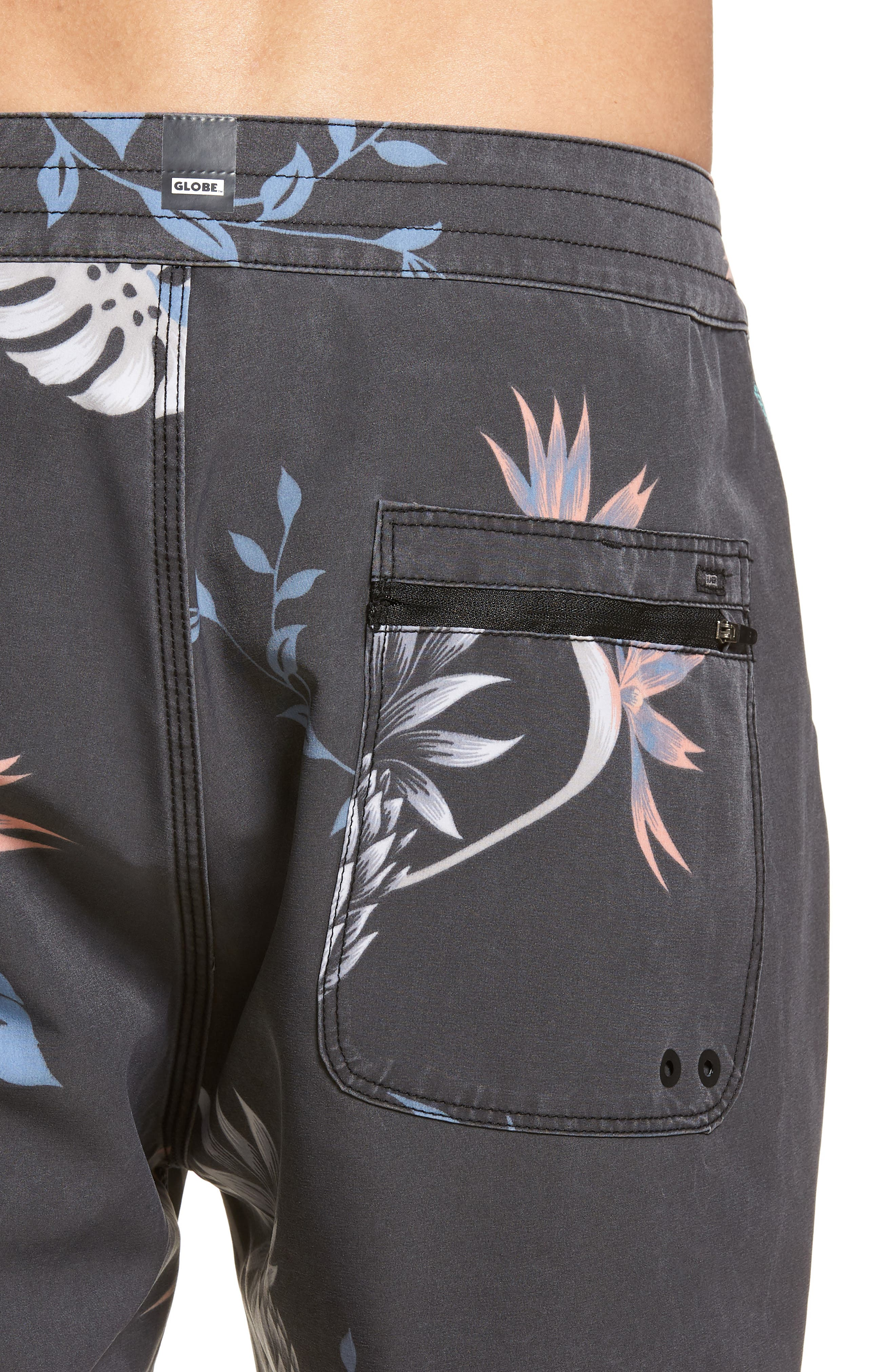 Shangri-La 3.0 Board Shorts,                             Alternate thumbnail 4, color,                             Granite