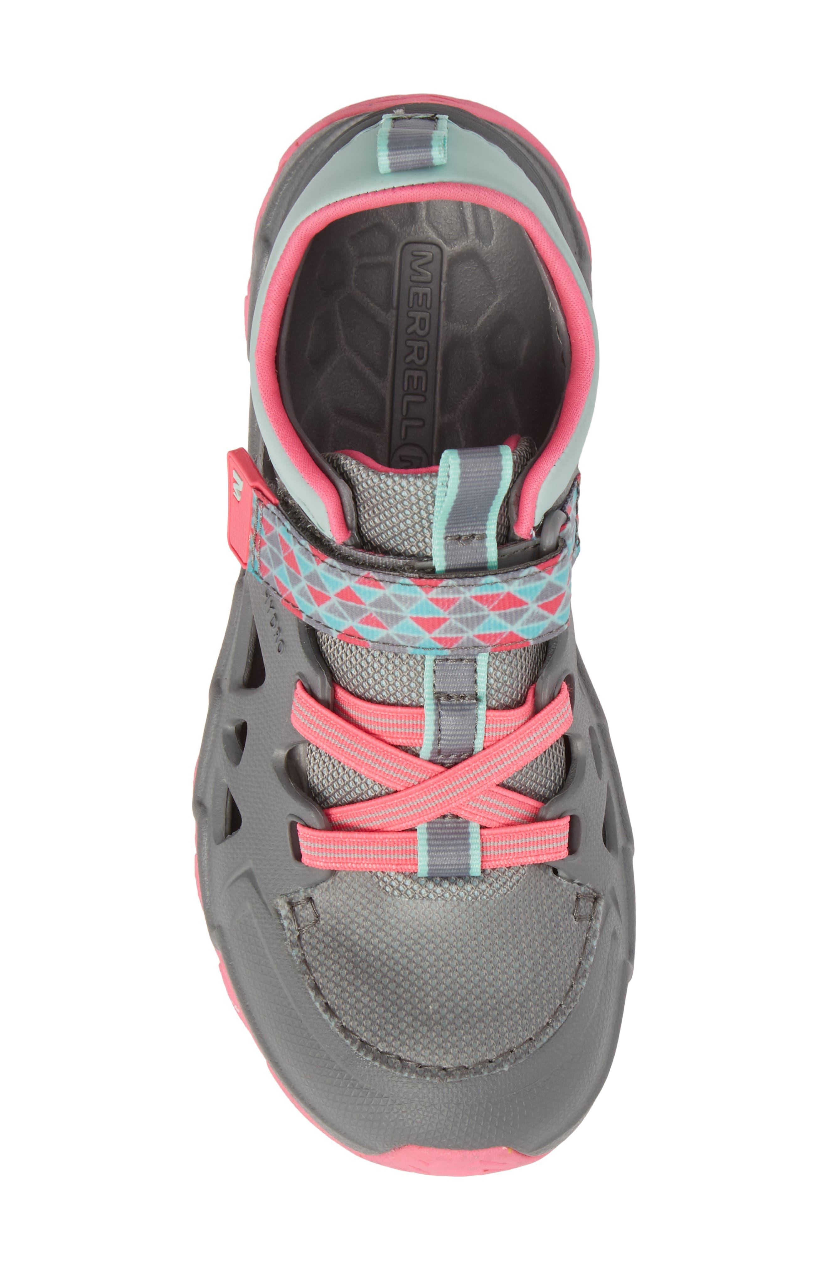 Hydro 2.0 Water Friendly Sneaker,                             Alternate thumbnail 5, color,                             Grey/ Multi