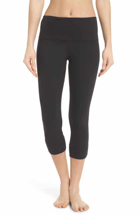 3a3839802b2fbf Zella Lyrical High Waist Crop Leggings