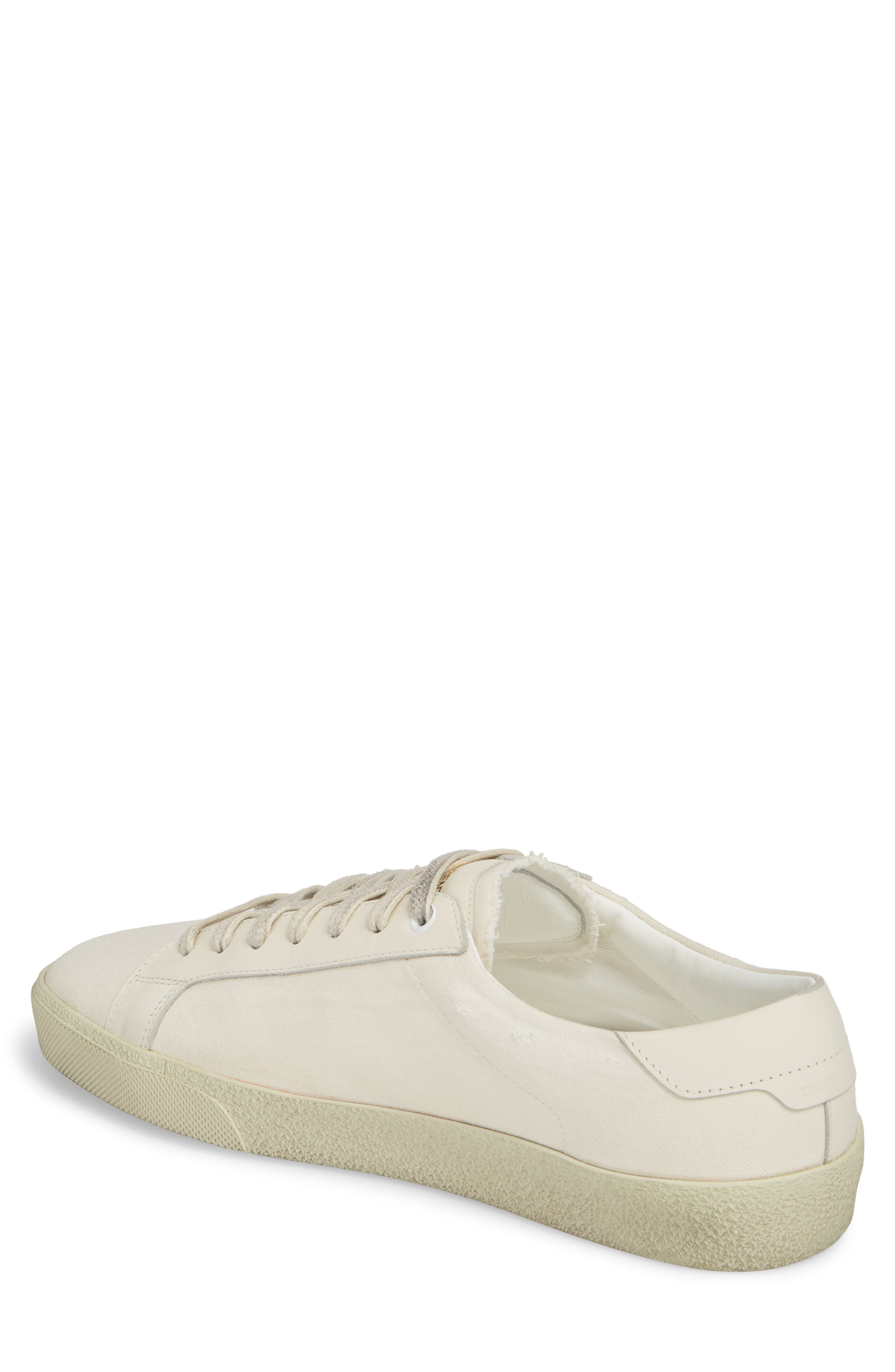 Embroidered Low Top Sneaker,                             Alternate thumbnail 2, color,                             Pesca