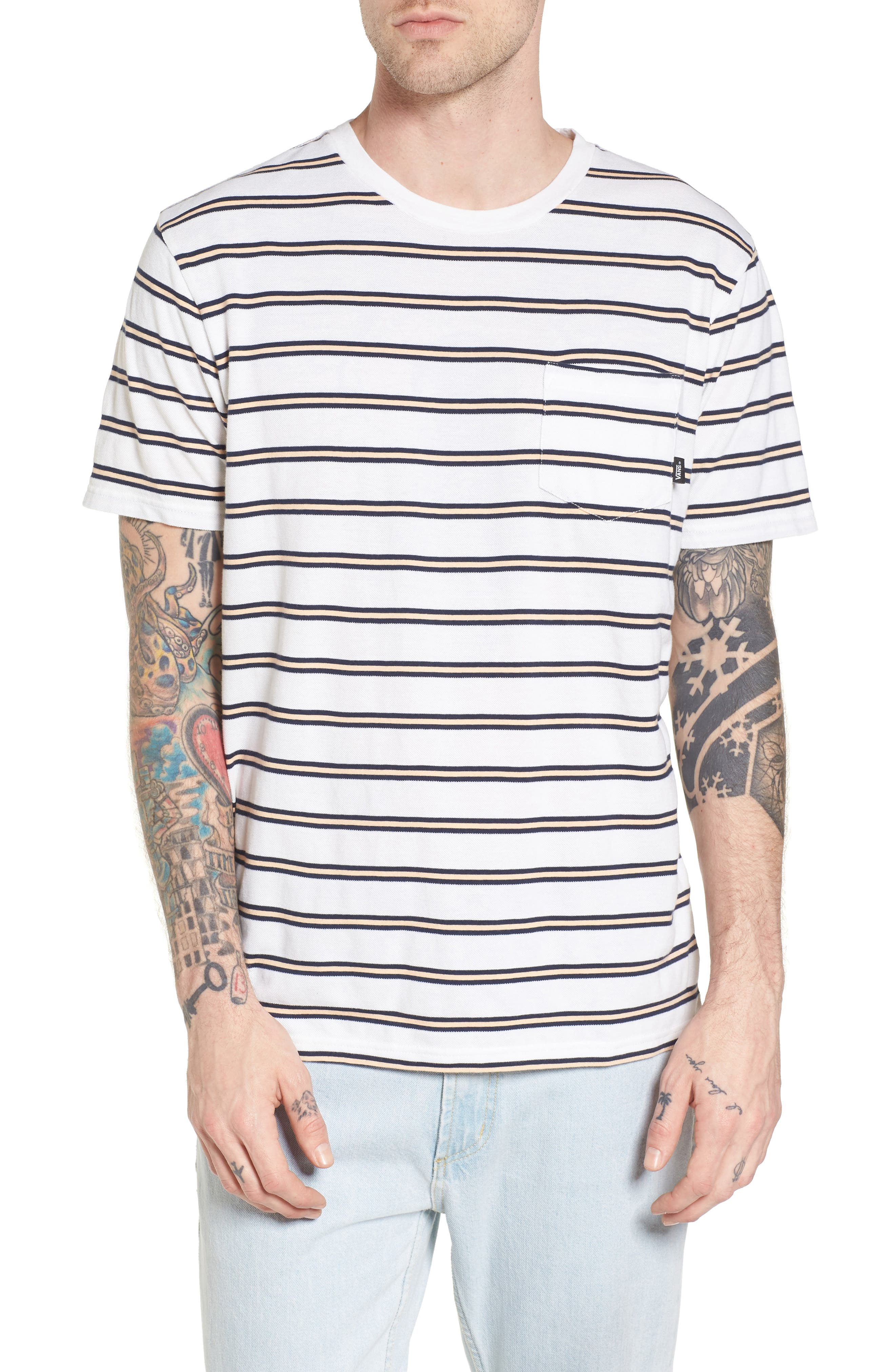 Whittier Pocket T-Shirt,                         Main,                         color, Marshmallow