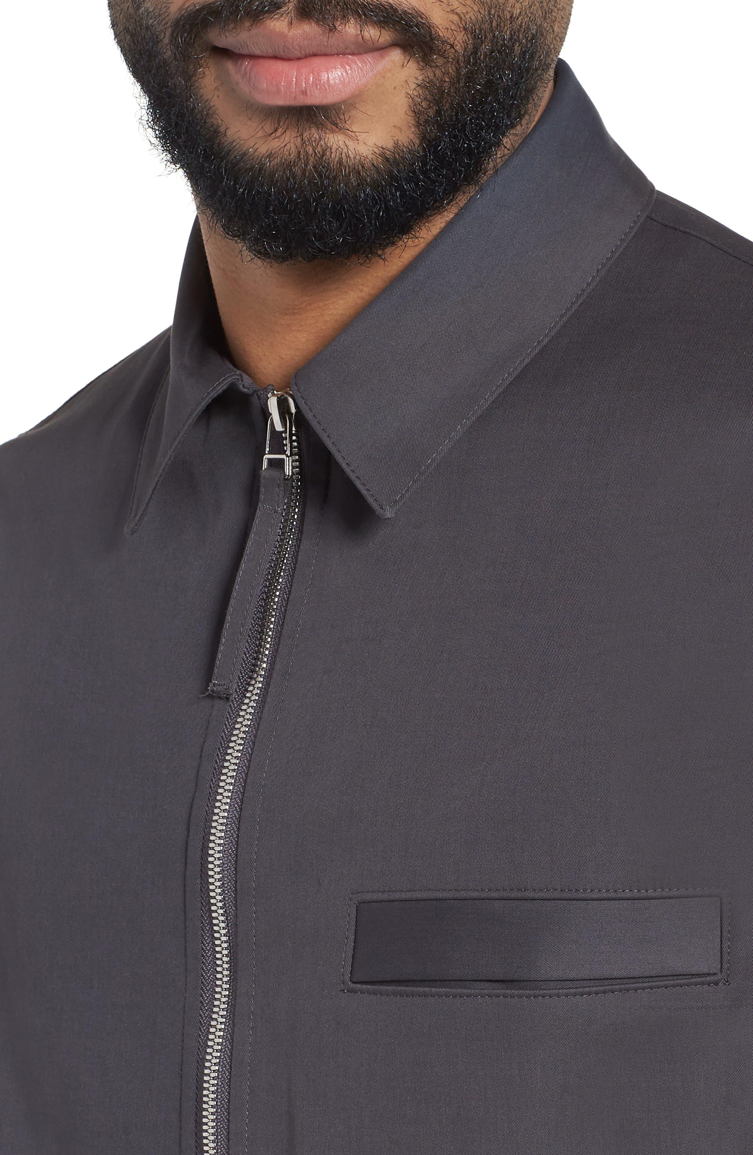 Alternate Image 4  - Theory Rye Holtham Shirt Jacket