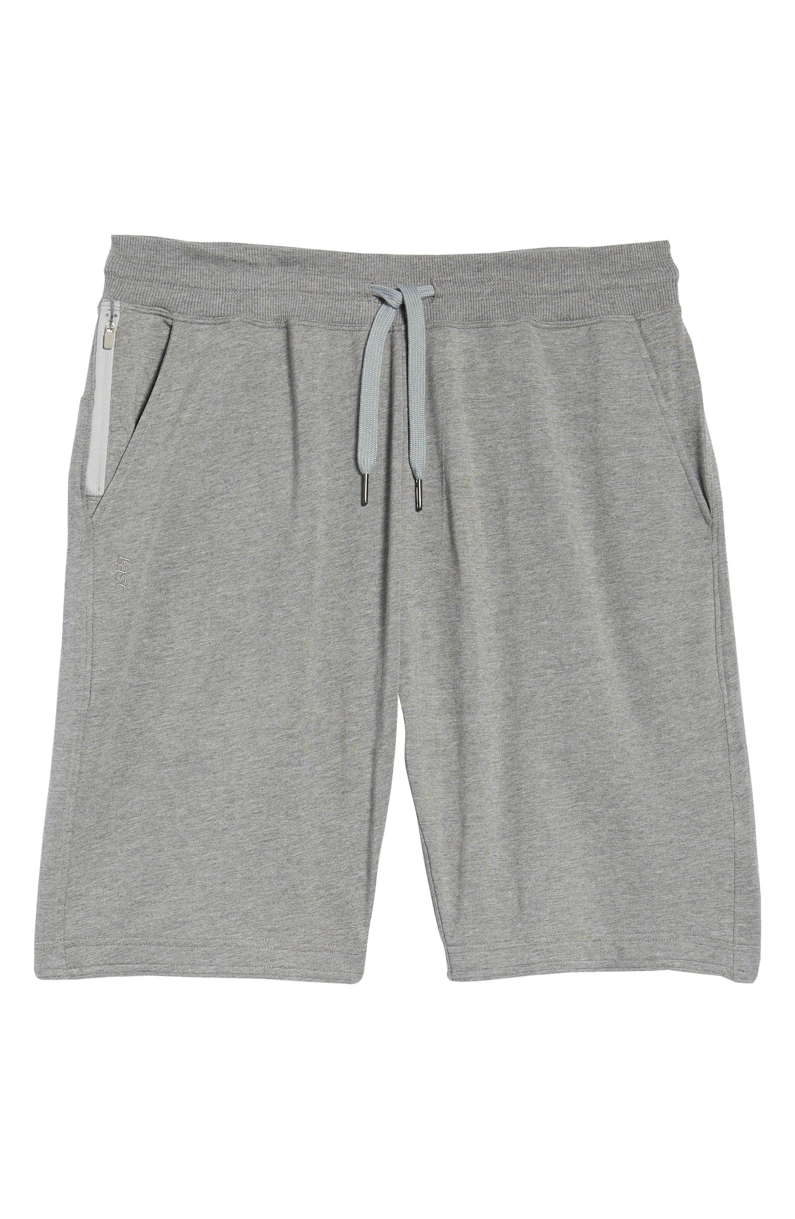 Legacy Lounge Shorts,                             Alternate thumbnail 6, color,                             Heather Grey