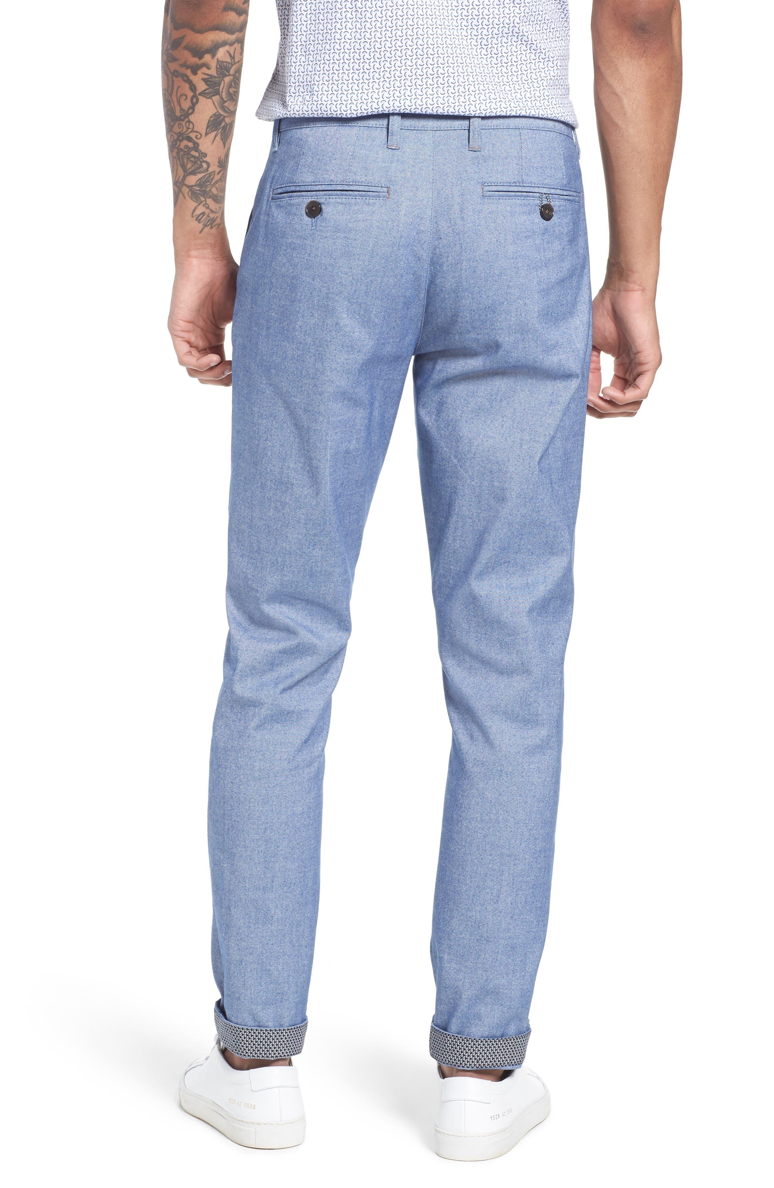 Alternate Image 2  - Ted Baker London Volvek Classic Fit Trousers