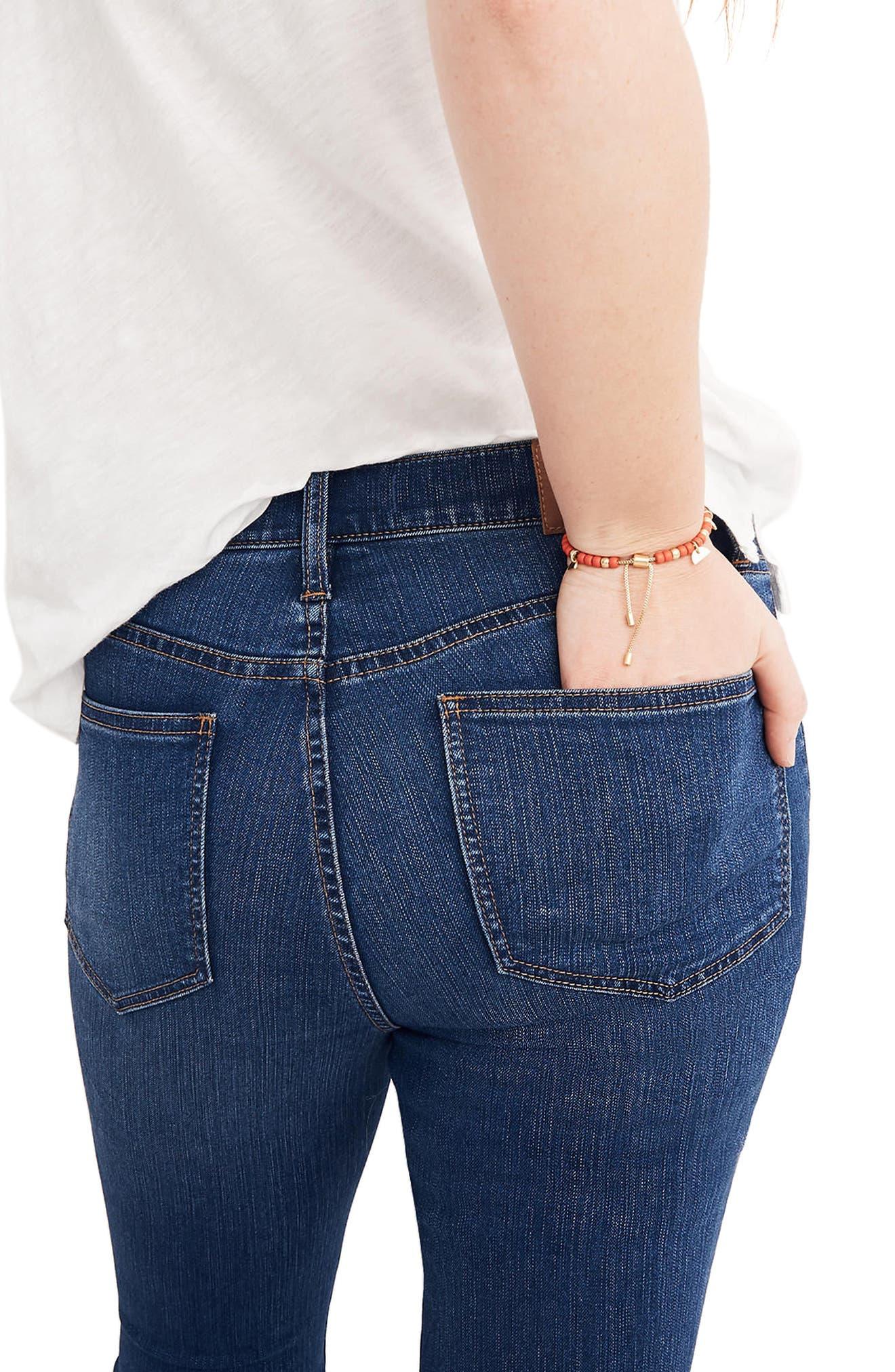 Roadtripper High Waist Skinny Jeans,                             Alternate thumbnail 3, color,                             Orson Wash