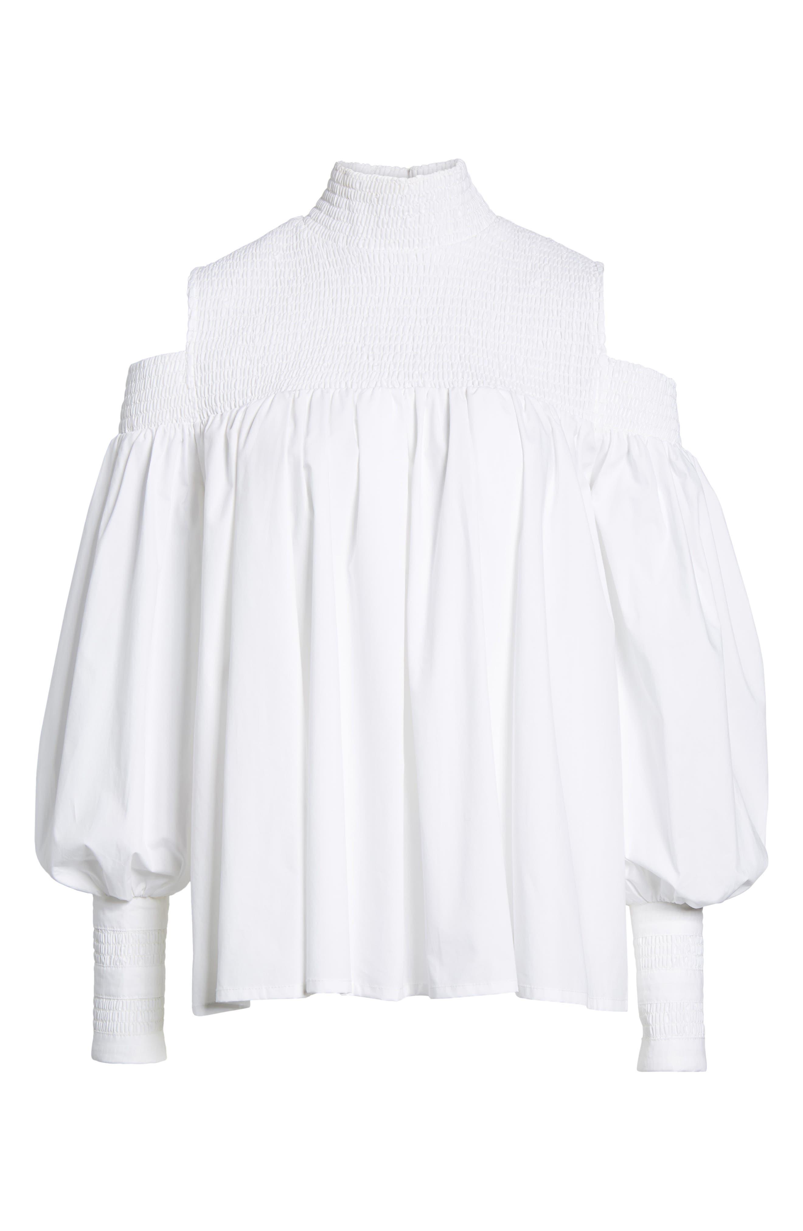 Alternate Image 6  - Elliatt Ivy Cold Shoulder Top