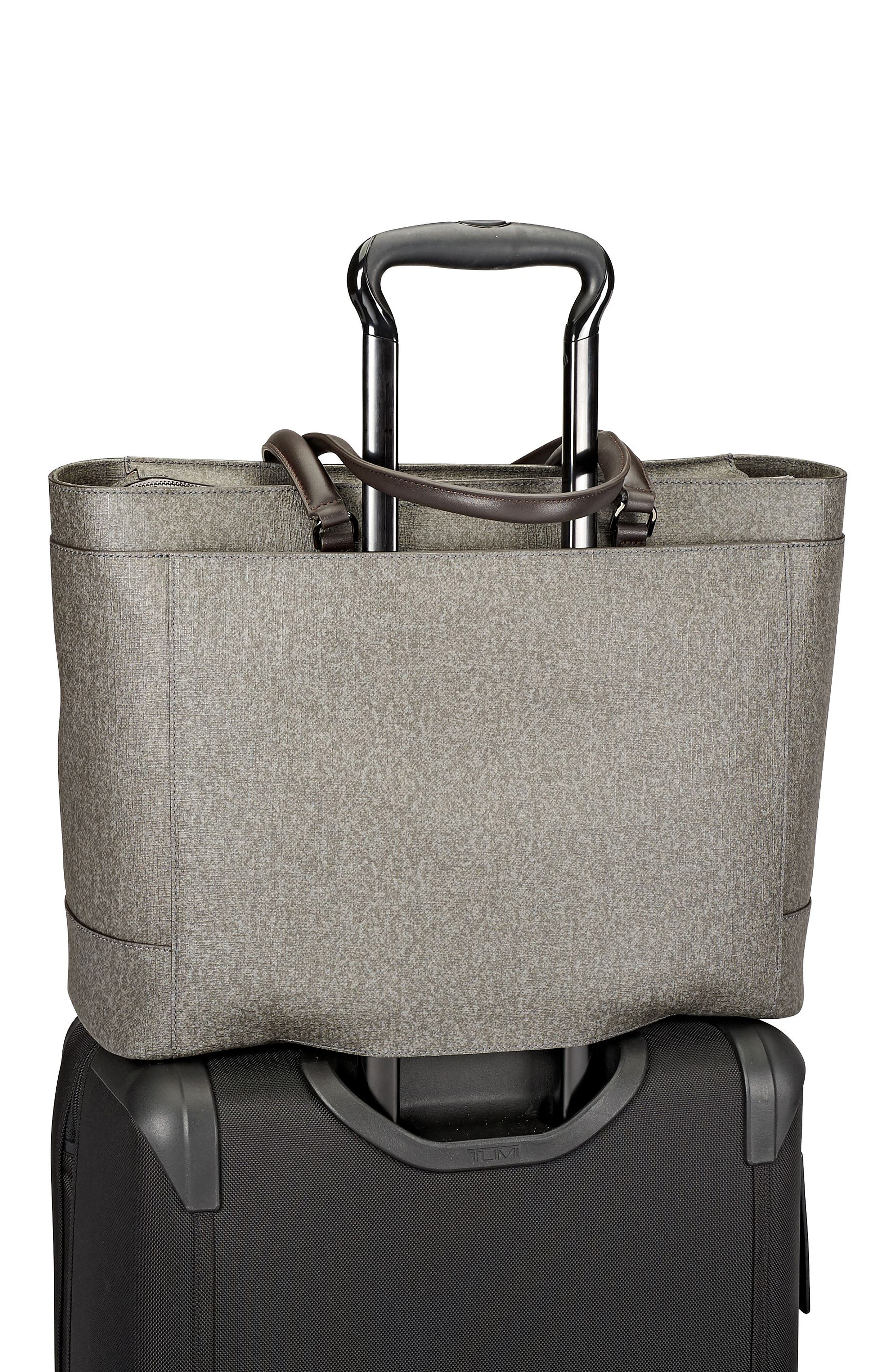 Stanton Business Tote,                             Alternate thumbnail 5, color,                             Earl Grey