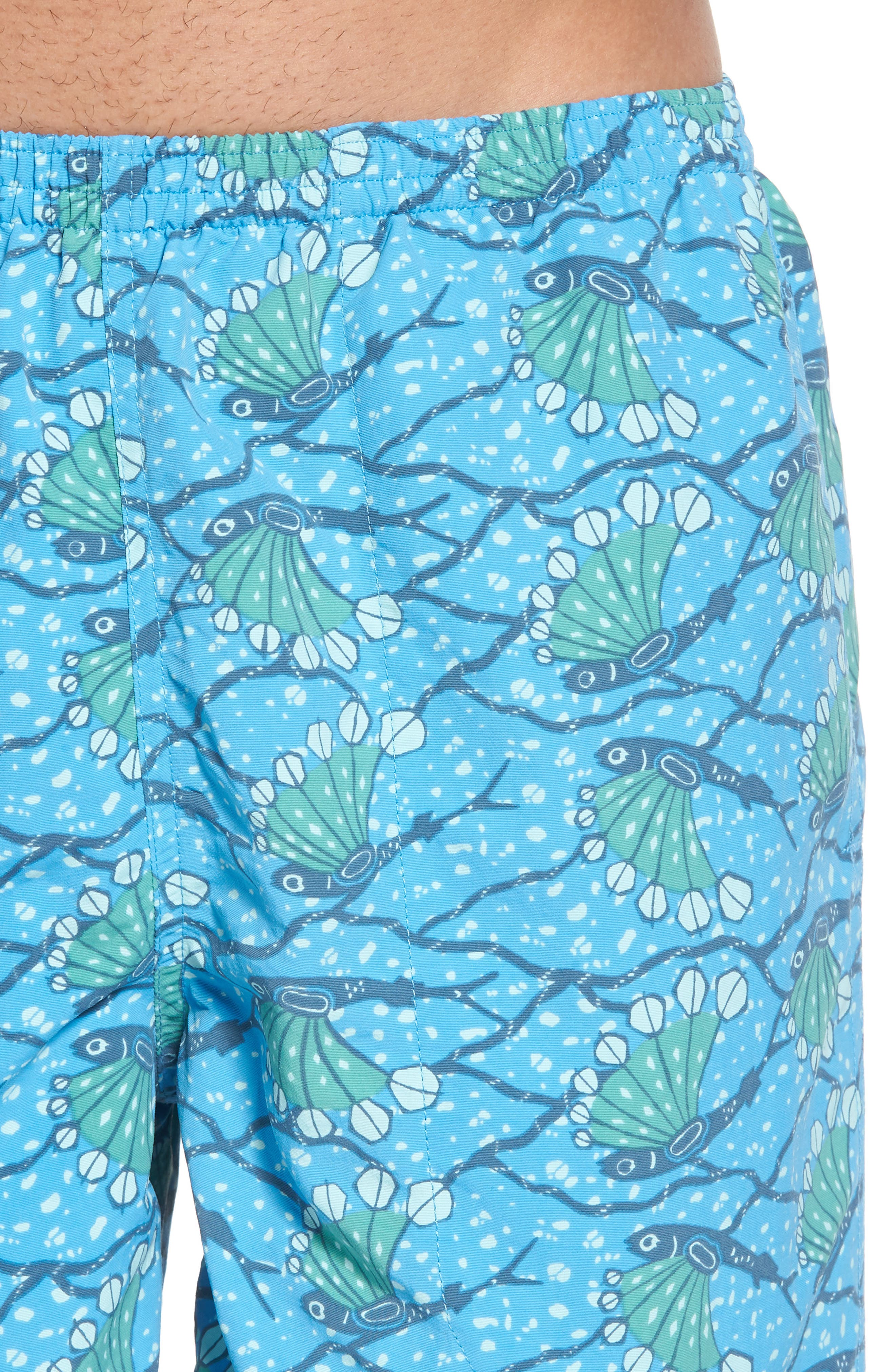 Baggies 5-Inch Swim Trunks,                             Alternate thumbnail 4, color,                             Hexy Fish Radar Blue