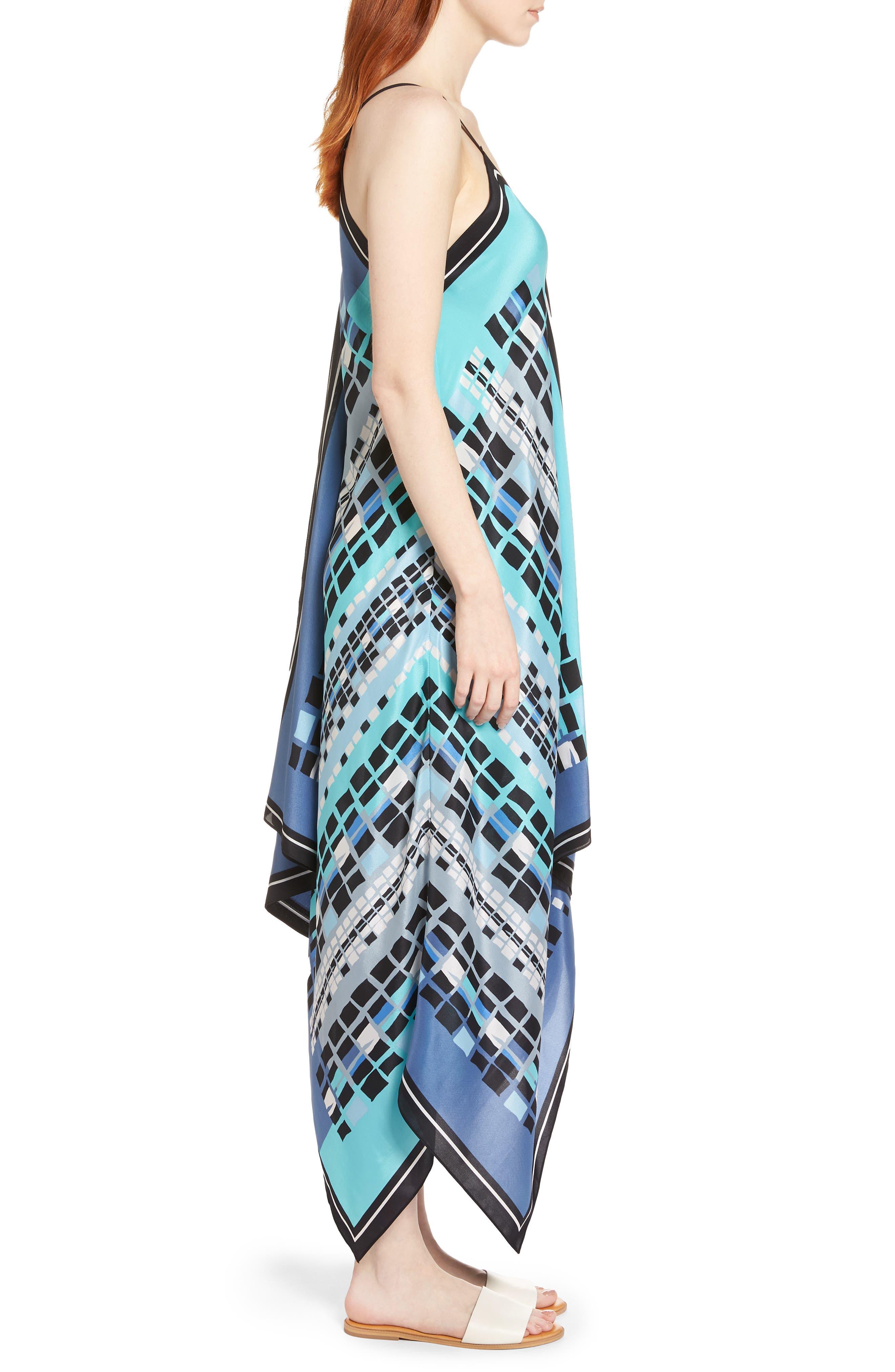 Alternate Image 3  - NIC+ZOE From Above Dress Silk Blend Maxi Dress (Regular & Petite)