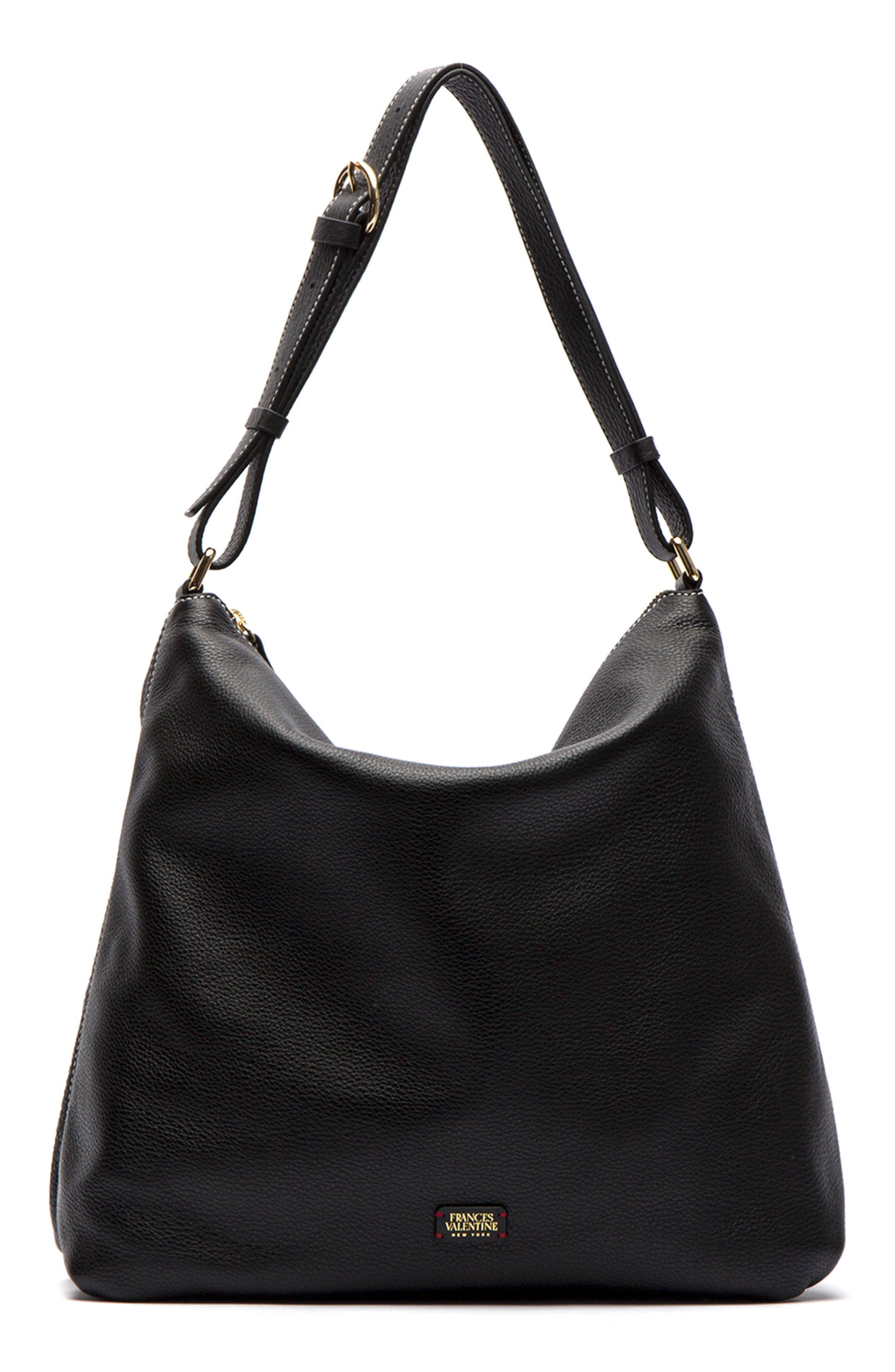 Frances Valentine Simone Slouchy Leather Hobo