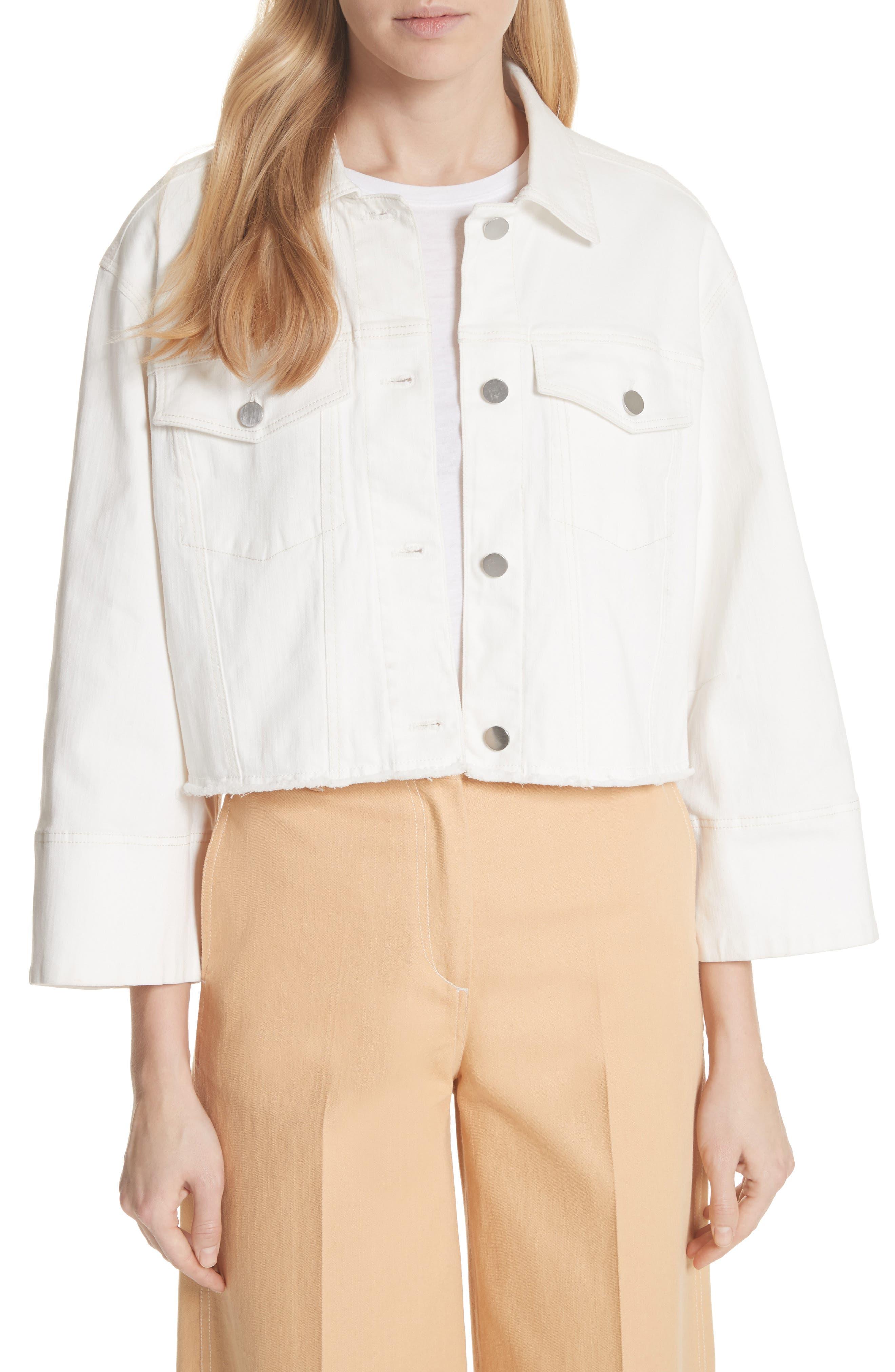 Elizabeth and James Branson Crop Denim Jacket