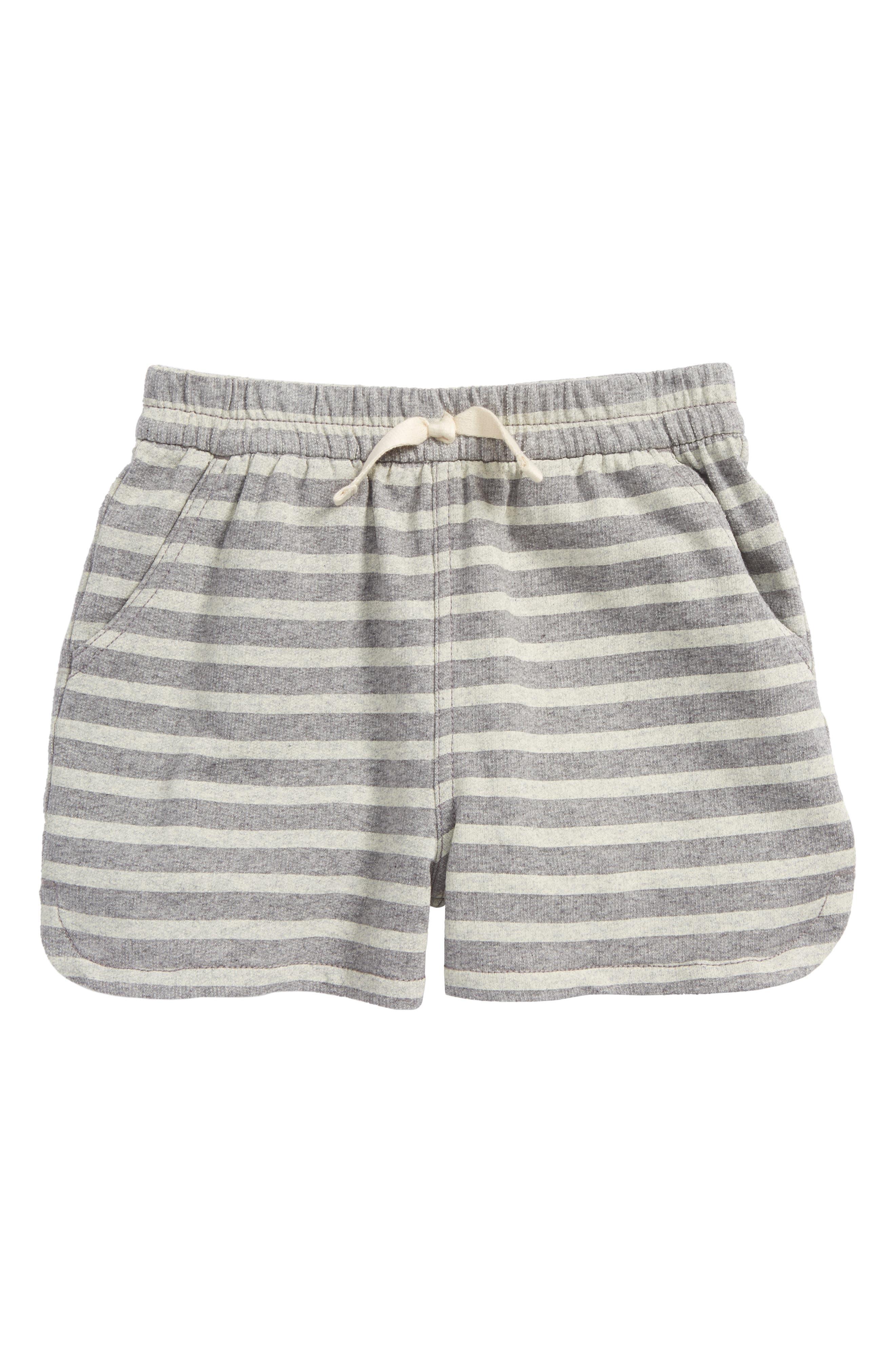 Tea Collection Stripe Dolphin Shorts (Toddler Girls, Little Girls & Big Girls)