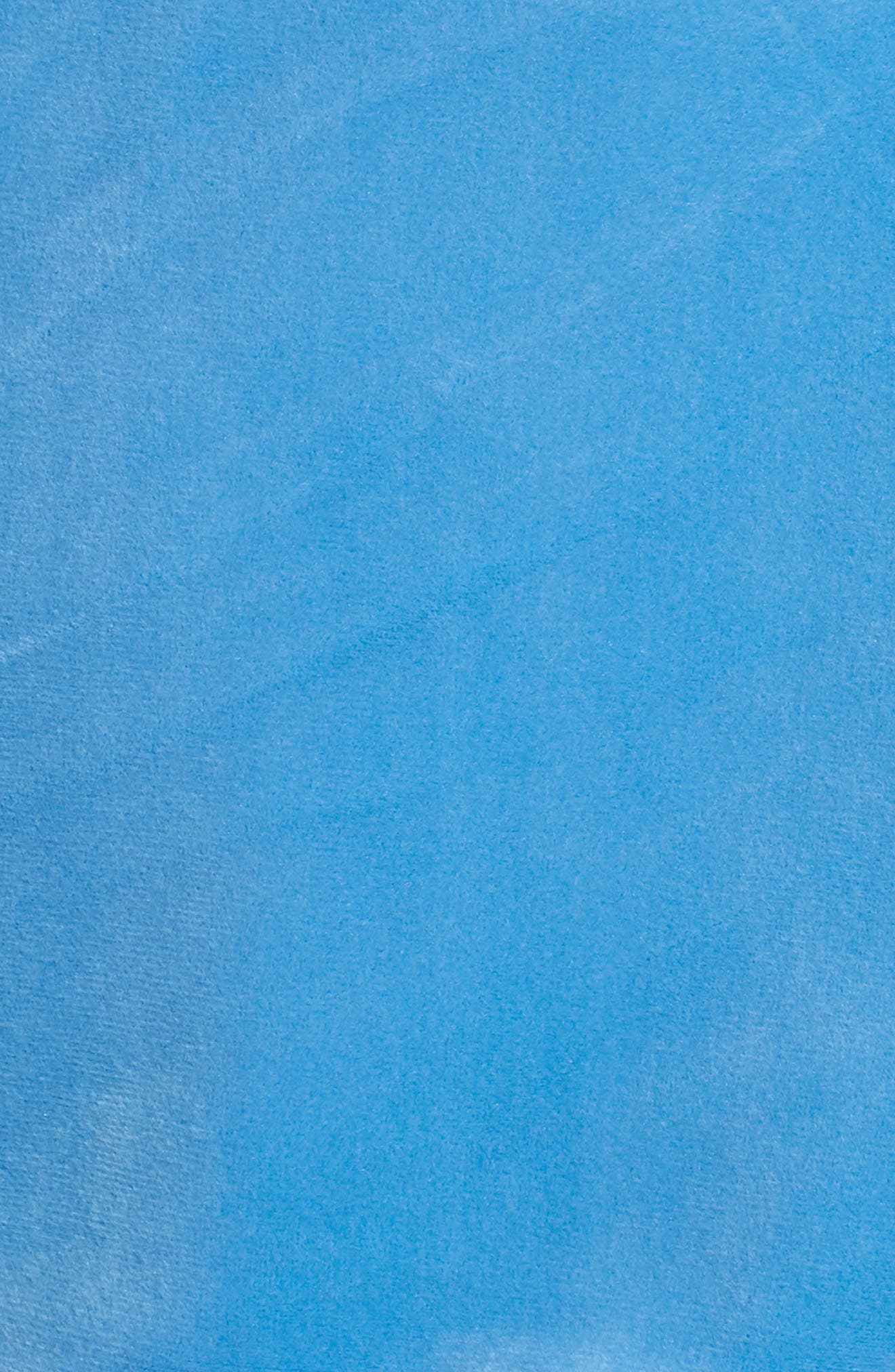 Asher Velour Hoodie Sweatshirt,                             Alternate thumbnail 5, color,                             Silver Lake Blue