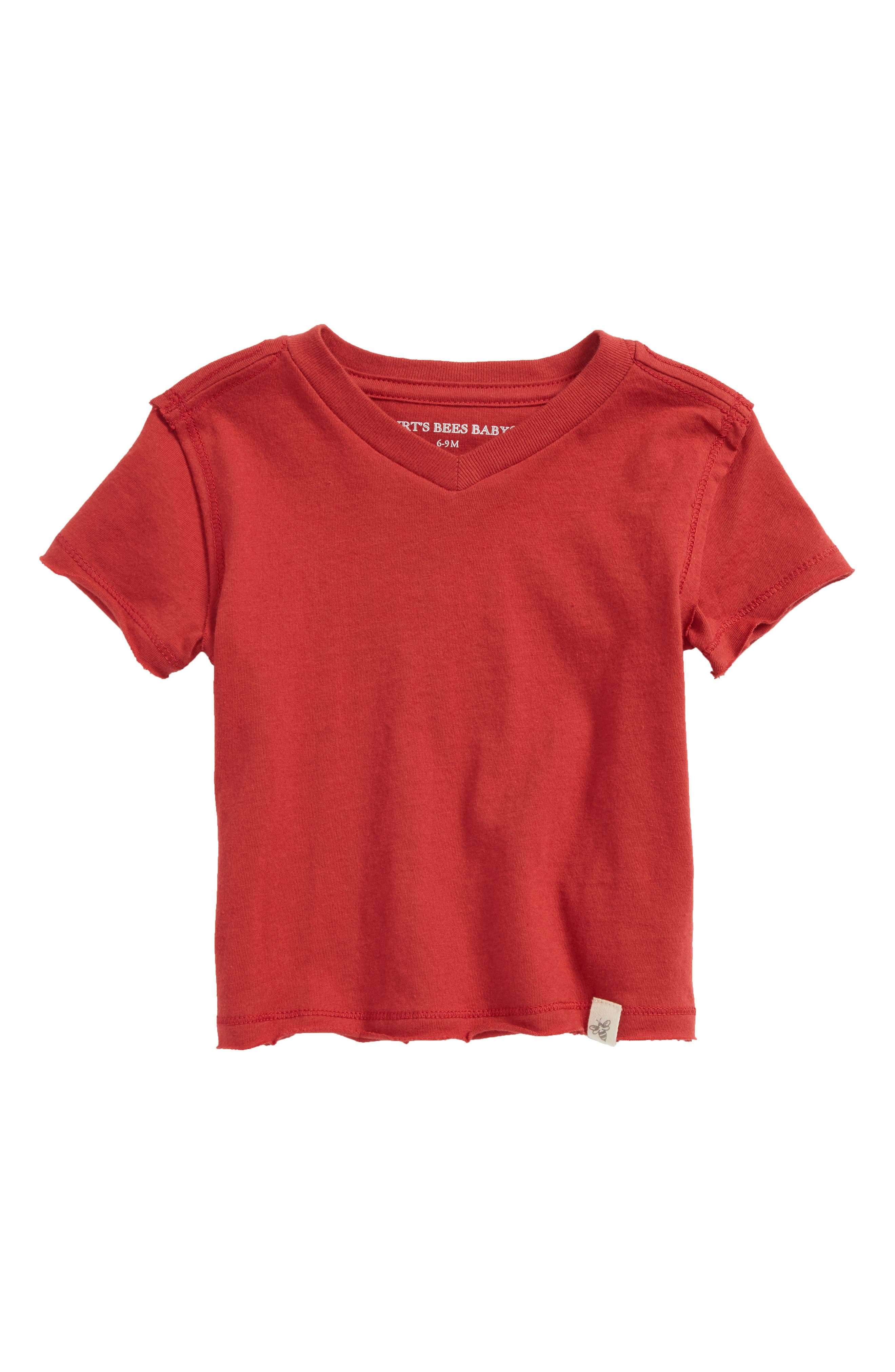 Organic Cotton T-Shirt,                             Main thumbnail 1, color,                             Red Barn