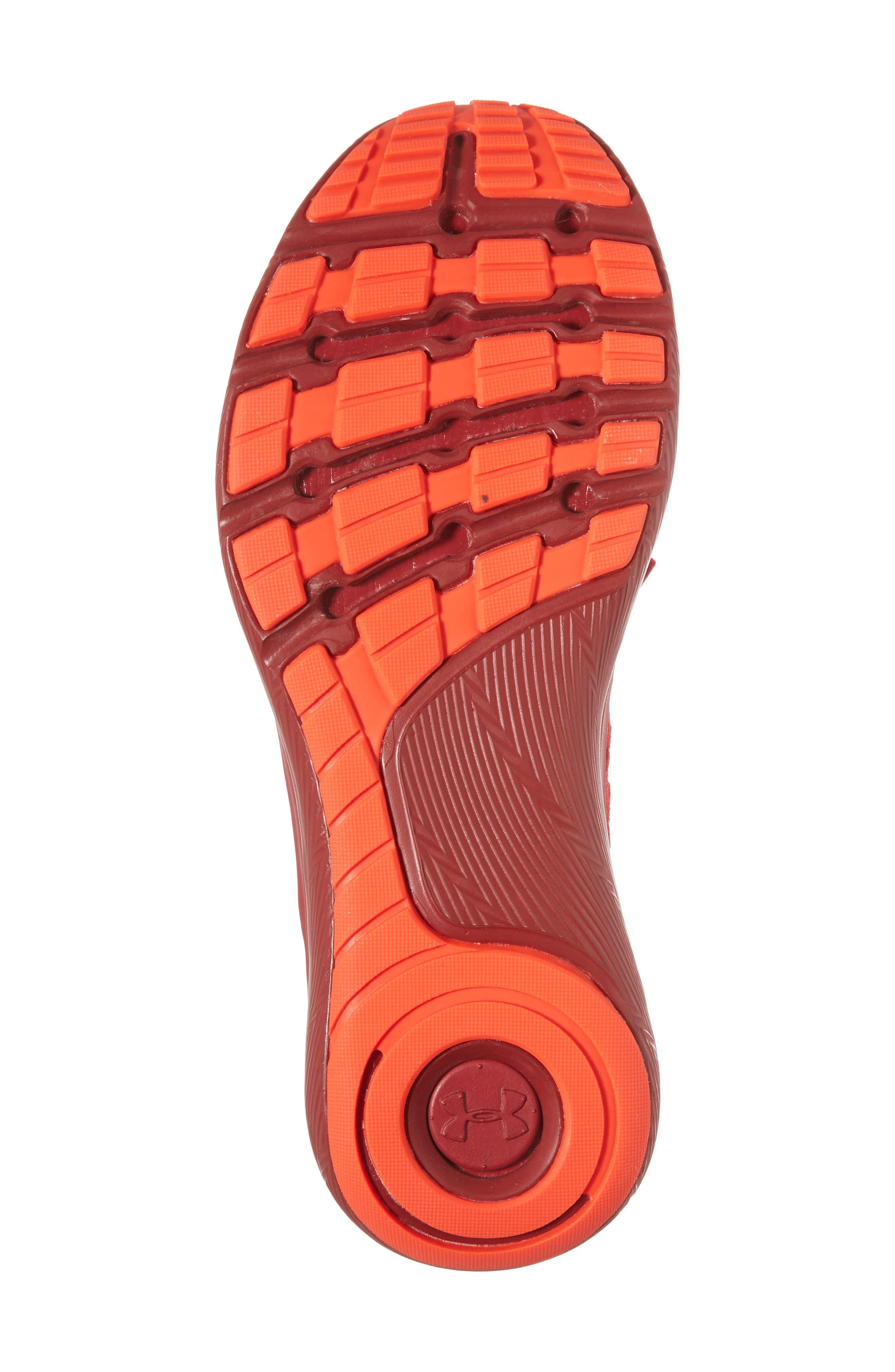 Slingflex Rise Sneaker,                             Alternate thumbnail 6, color,                             Pierce/ Spice Red