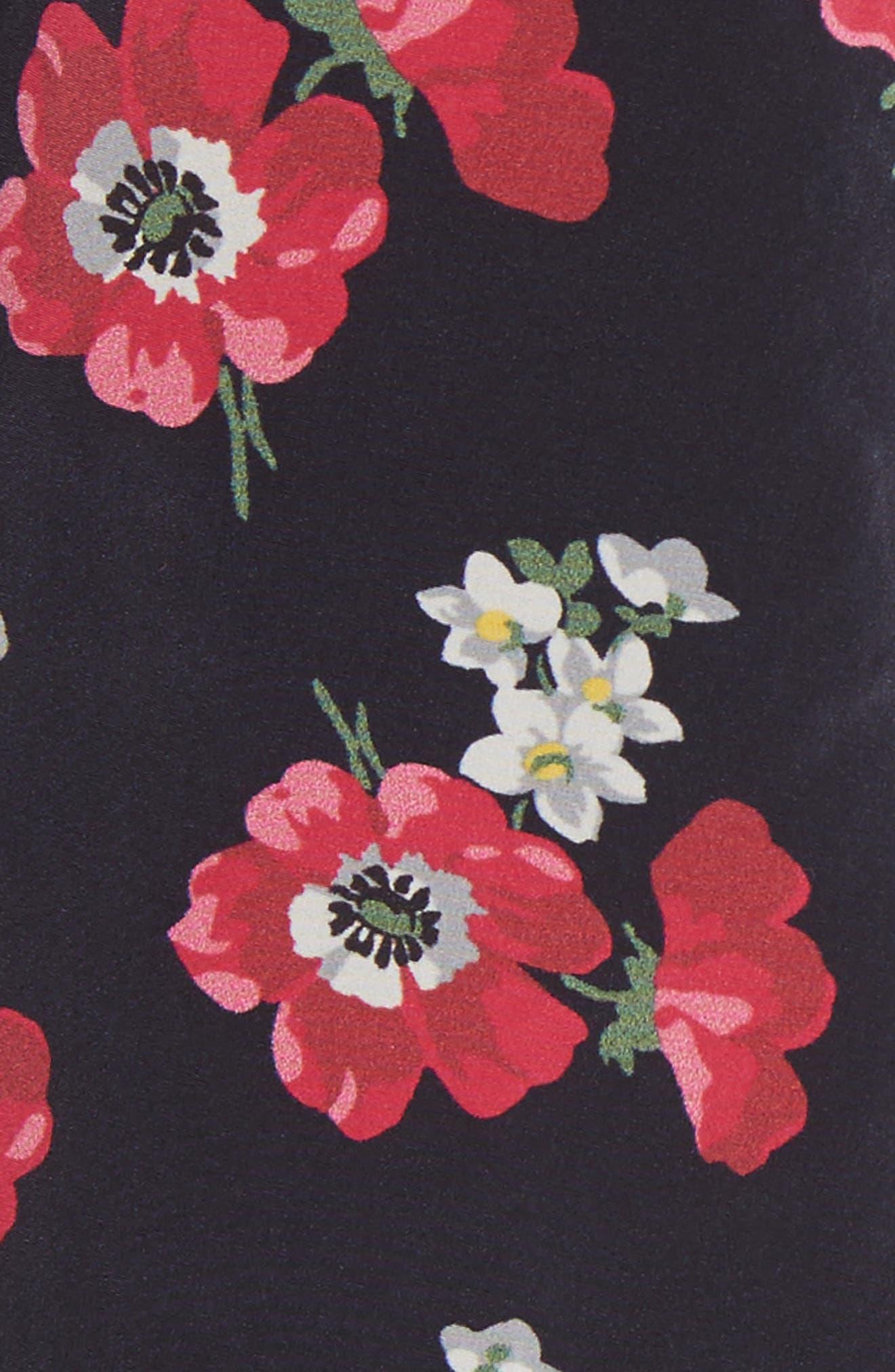 Vivre Floral Print Raincoat,                             Alternate thumbnail 5, color,                             Echo Print