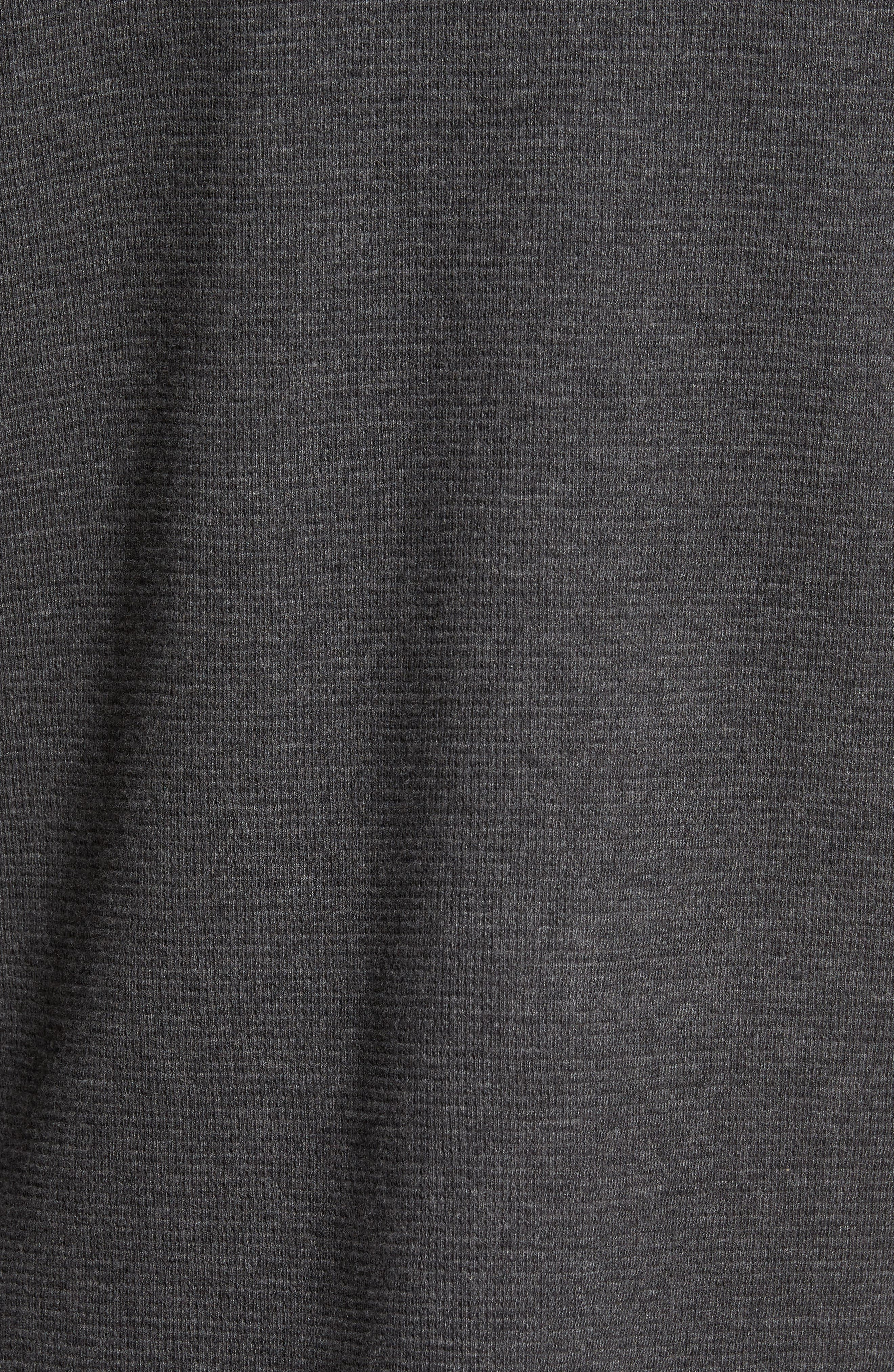 Wilson Pullover Hoodie,                             Alternate thumbnail 5, color,                             Charcoal