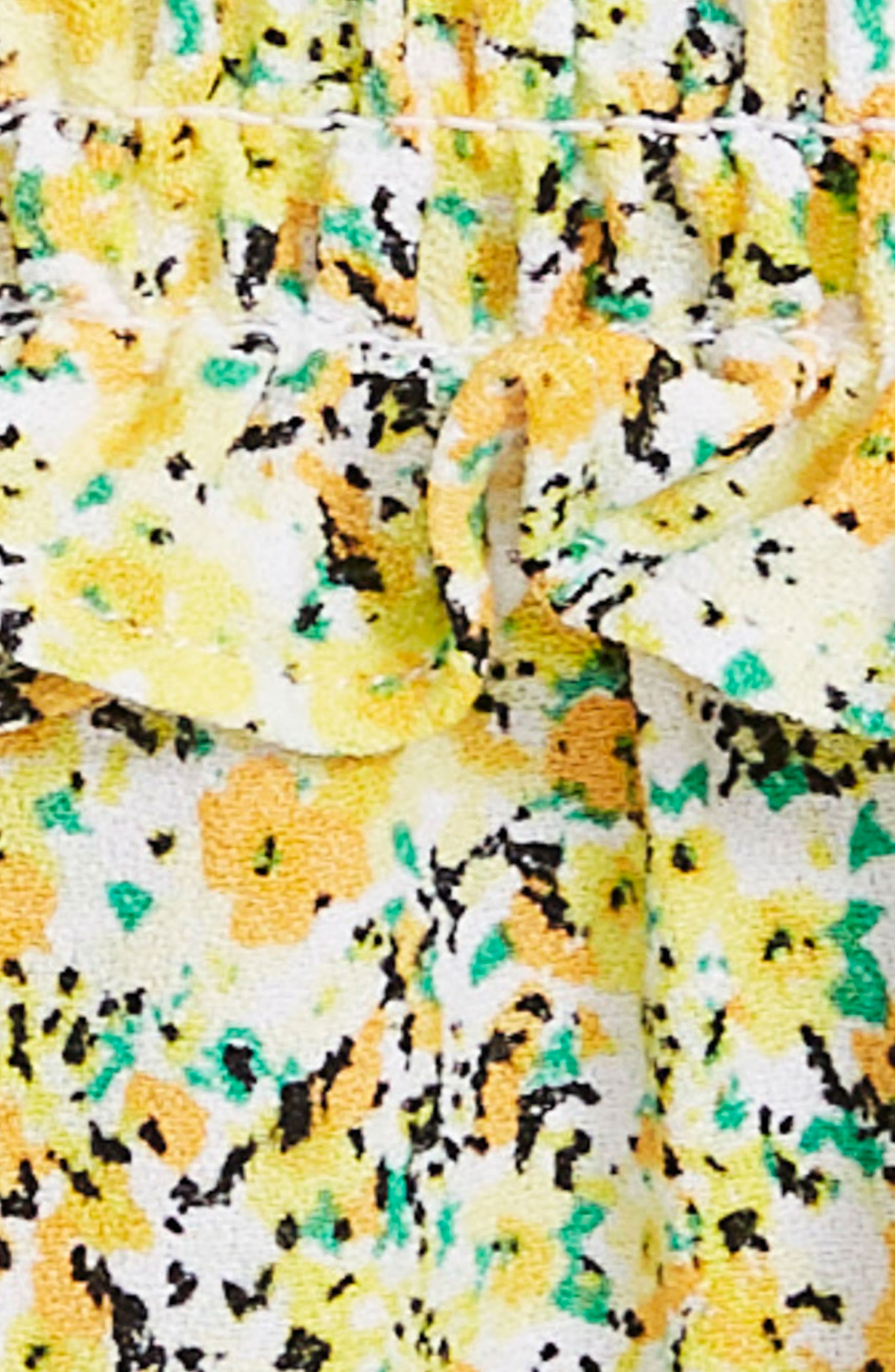 Alternate Image 7  - AFRM Hazel Smocked Midi Dress