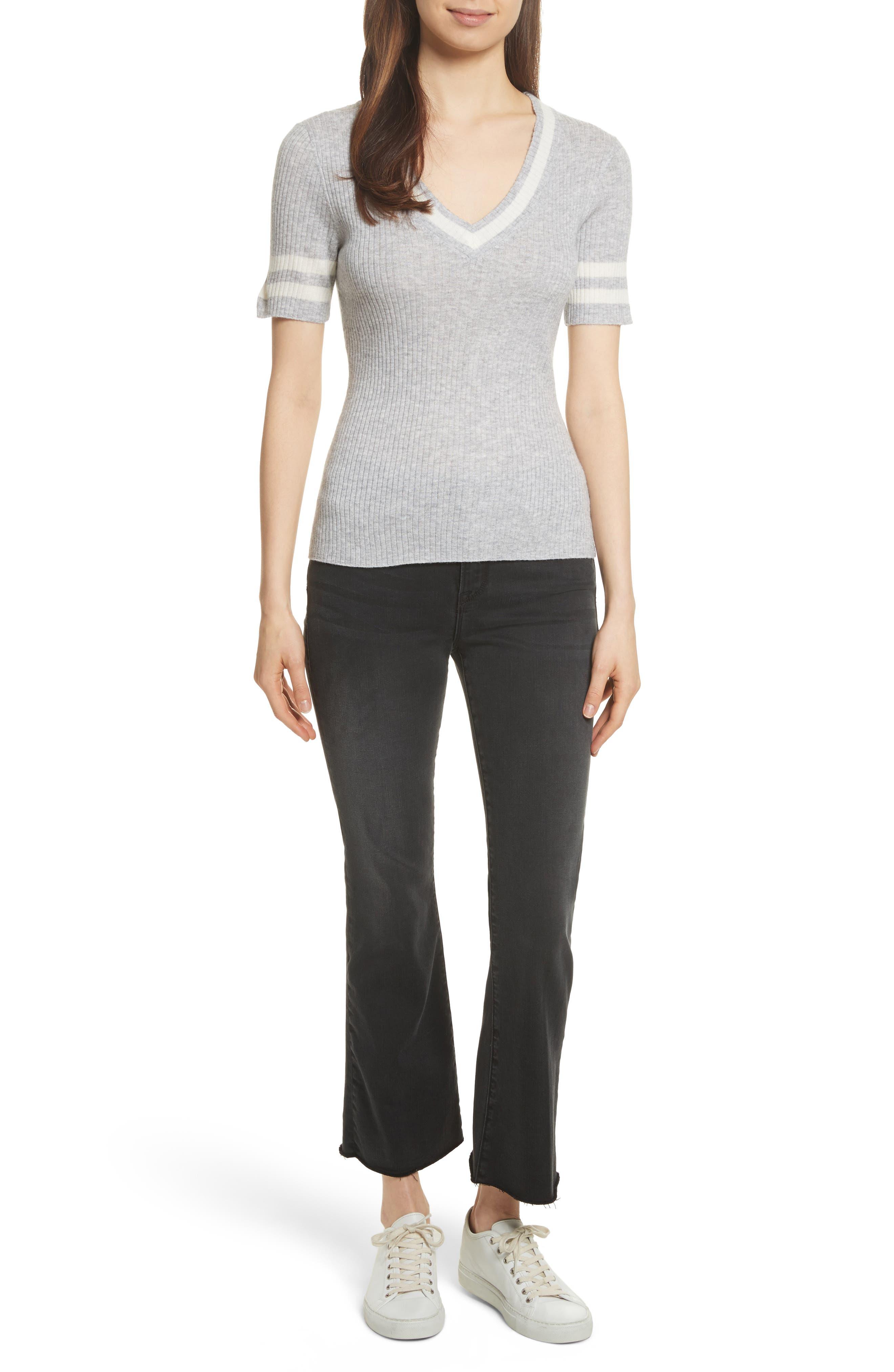 Alternate Image 2  - FRAME Varsity Sweater