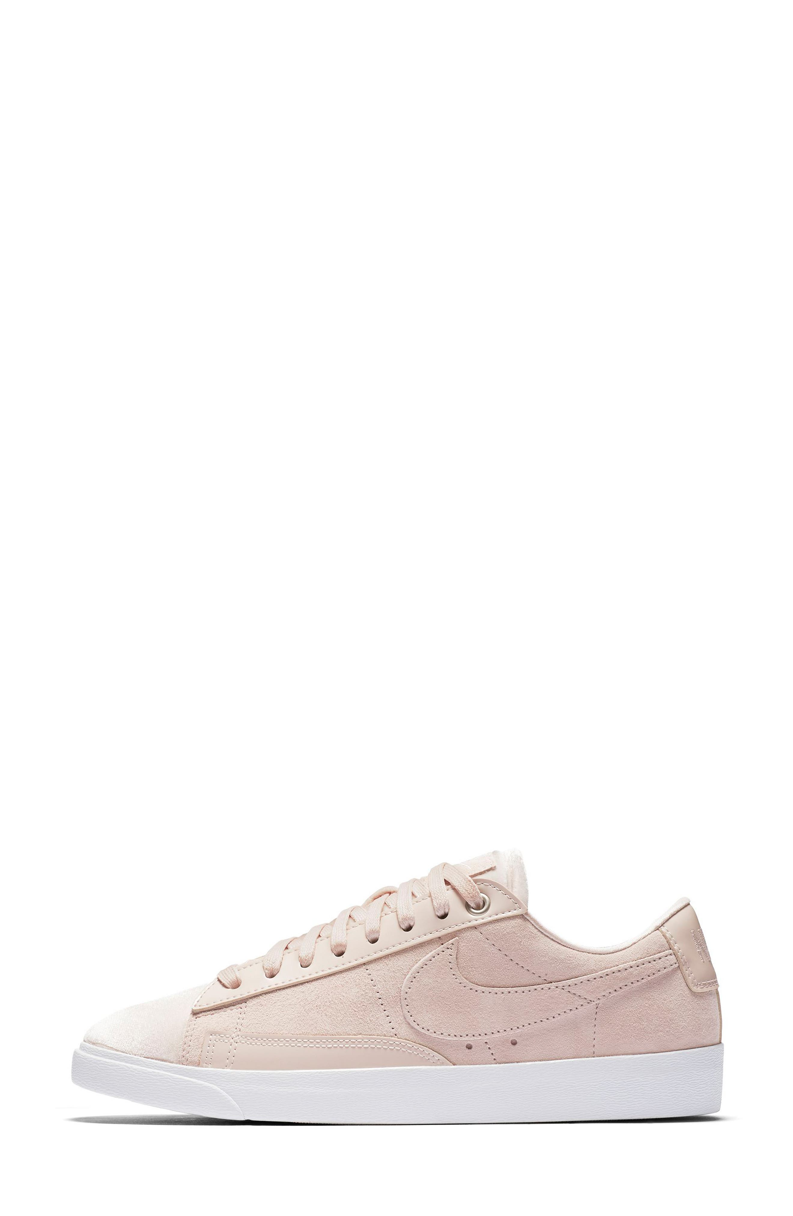 Blazer Low LX Sneaker,                             Alternate thumbnail 3, color,                             Silt Red/ Brown/ White
