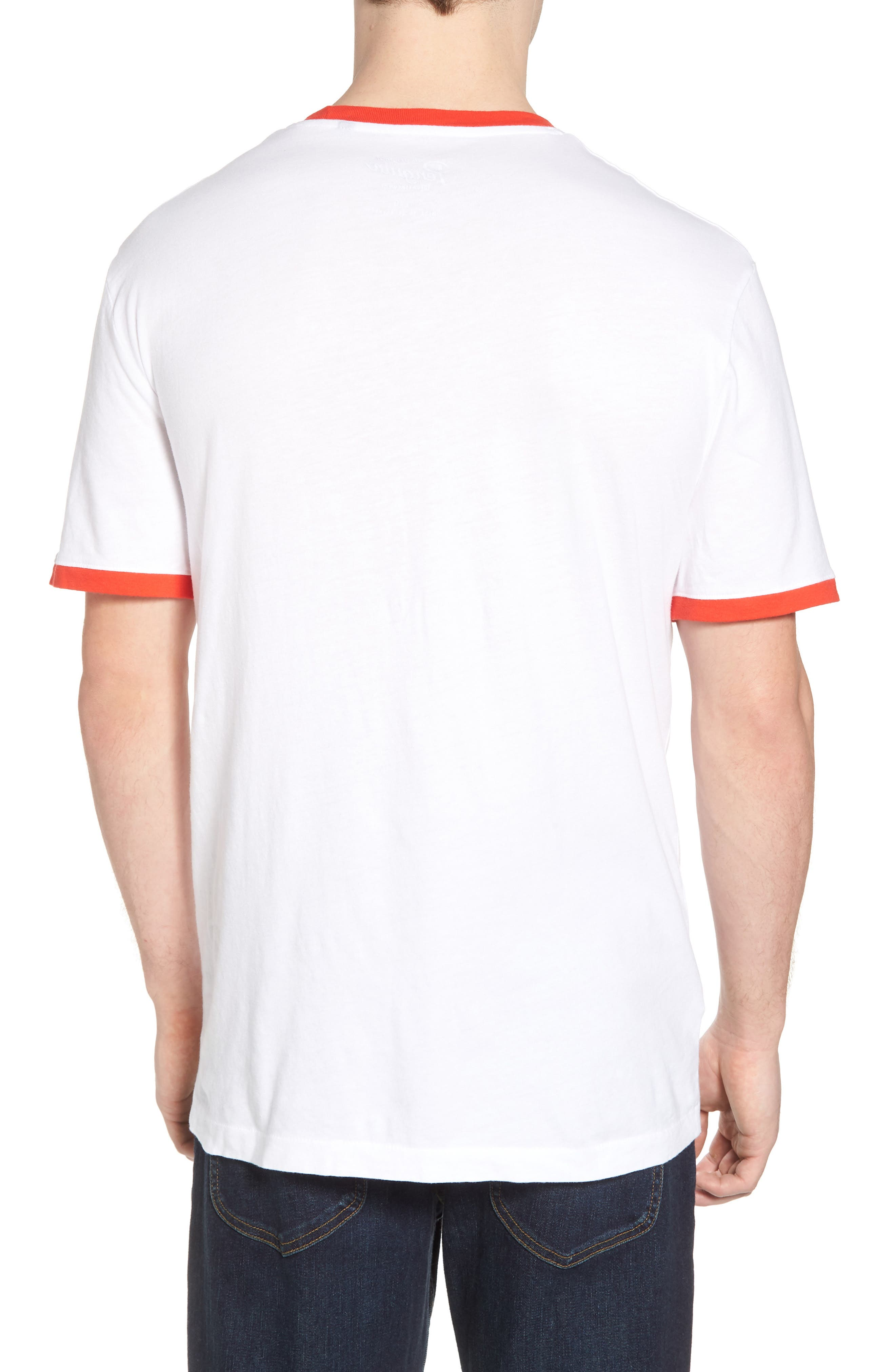 Stay Weird T-Shirt,                             Alternate thumbnail 2, color,                             Bright White
