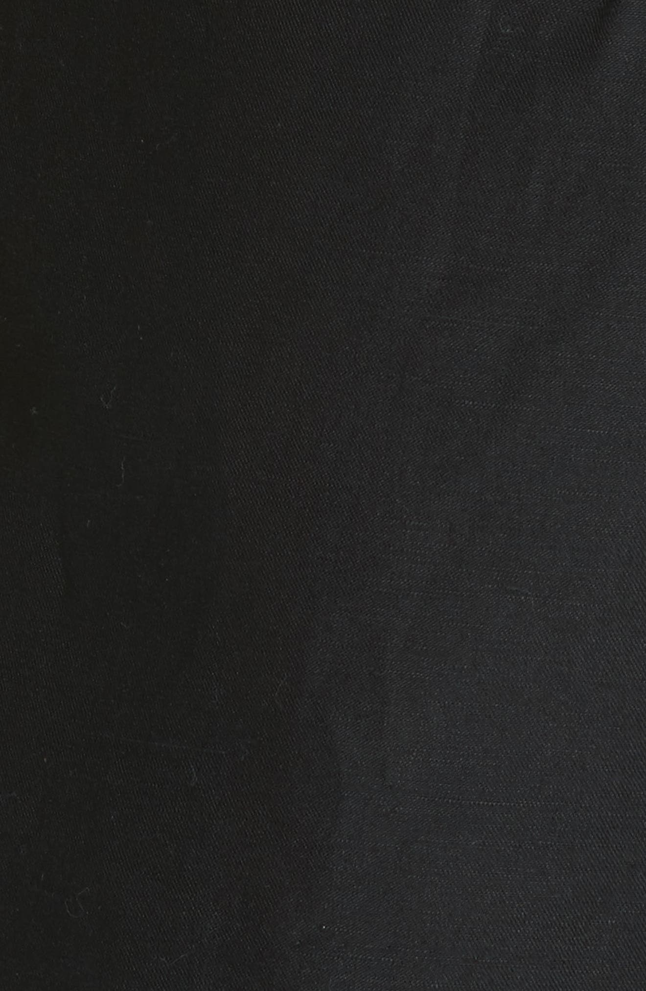 Paperbag Shorts,                             Alternate thumbnail 5, color,                             Noir