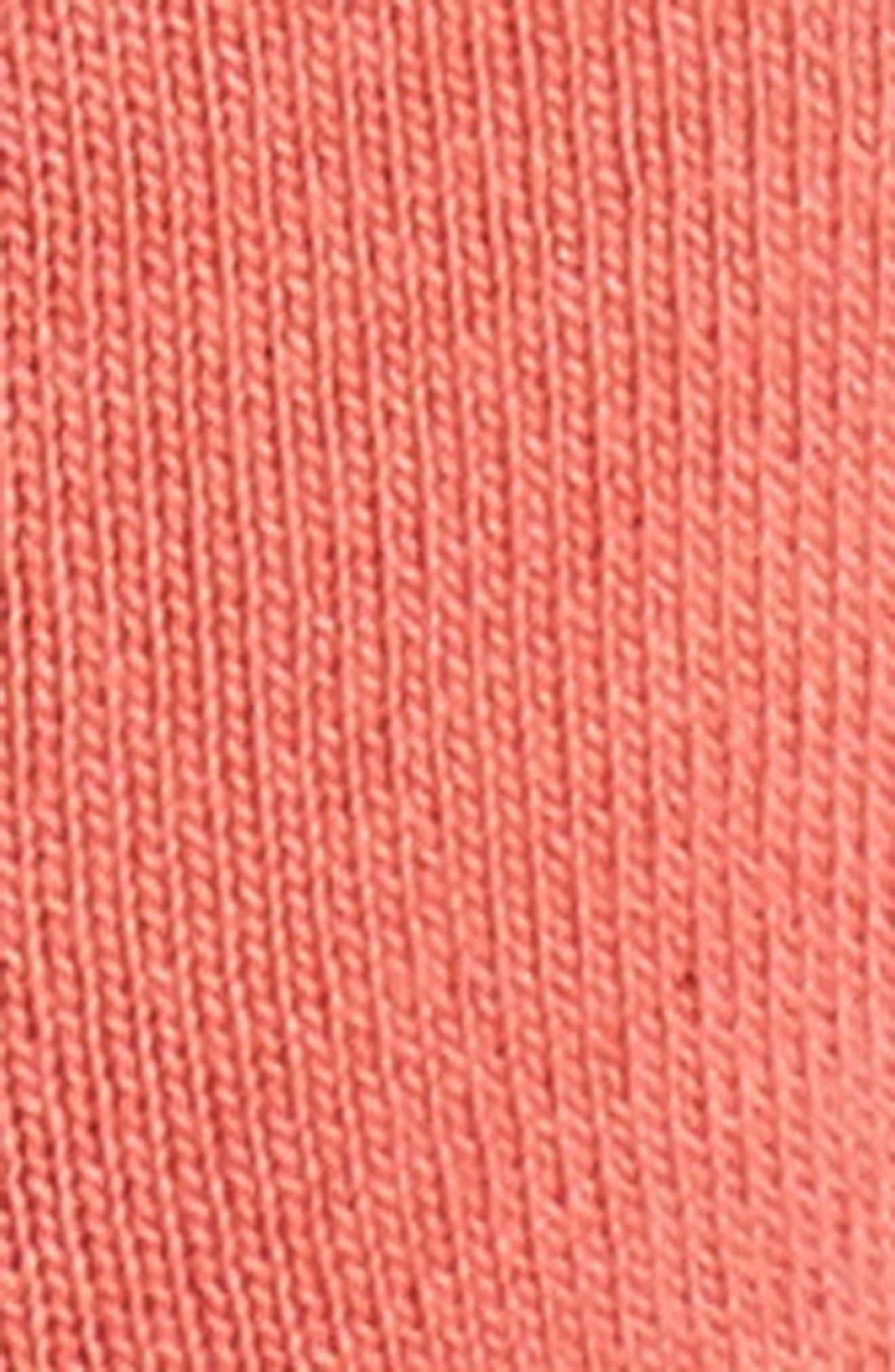Hide & Seek No-Show Socks,                             Alternate thumbnail 2, color,                             Bright Coral