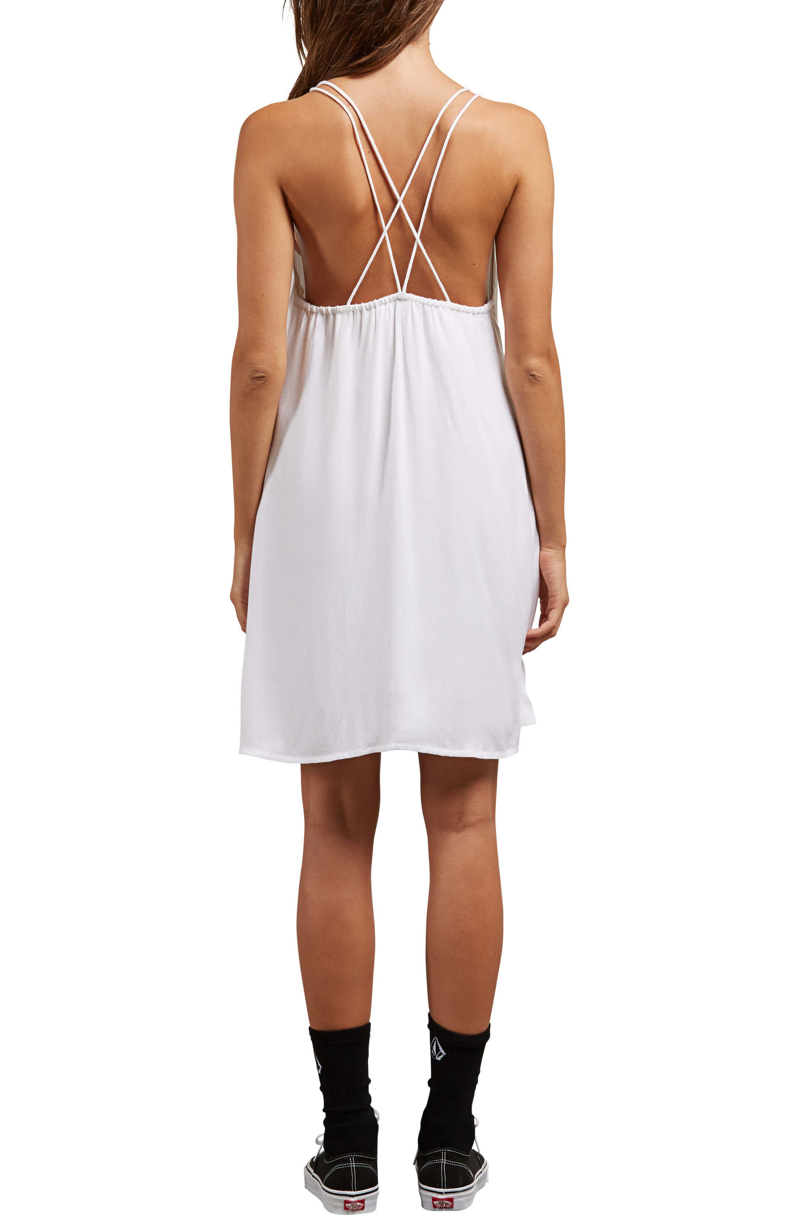 You Want This Strappy Dress,                             Alternate thumbnail 2, color,                             White