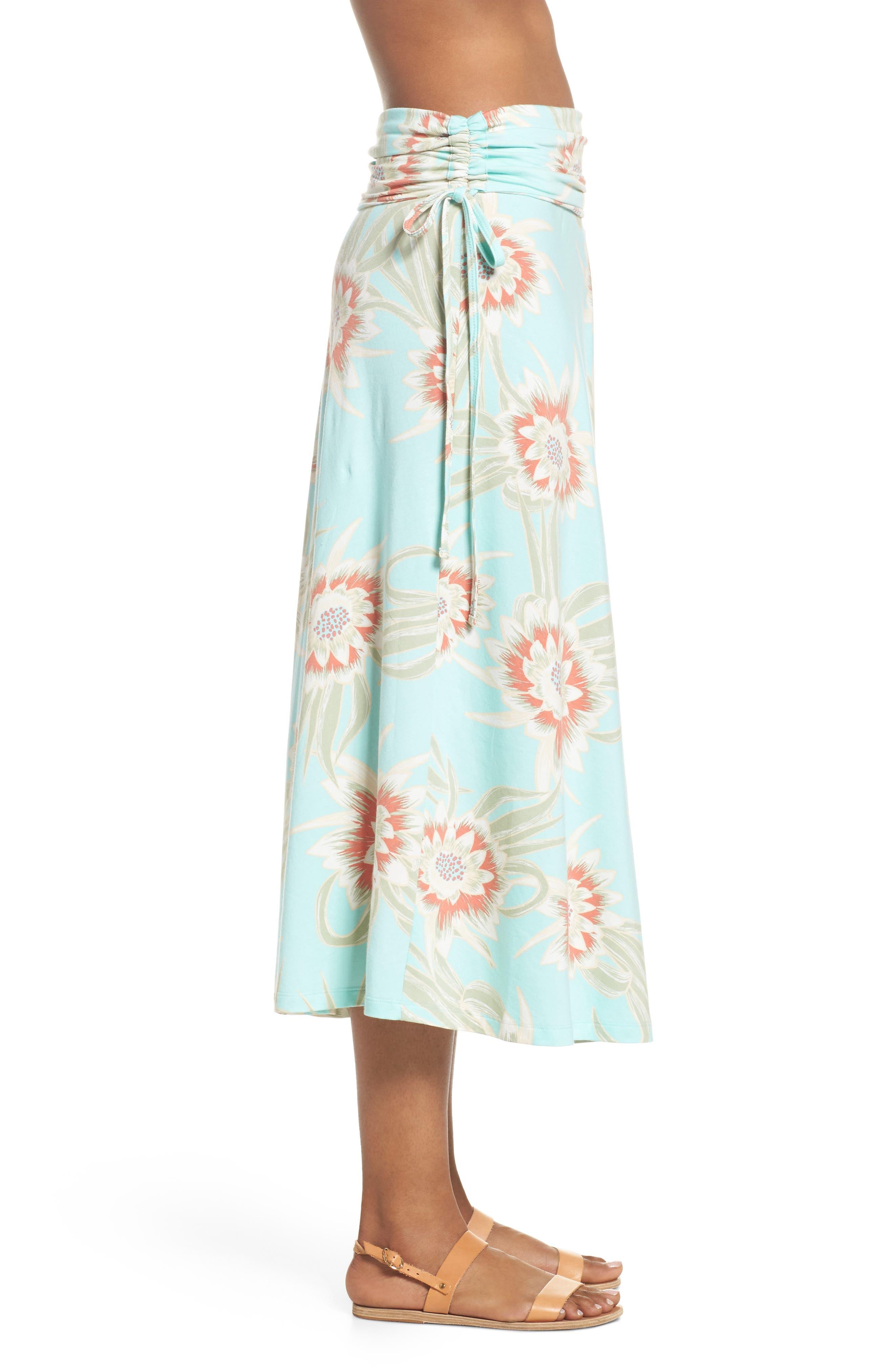 Kamala Maxi Skirt,                             Alternate thumbnail 4, color,                             Cereus Flower Bend