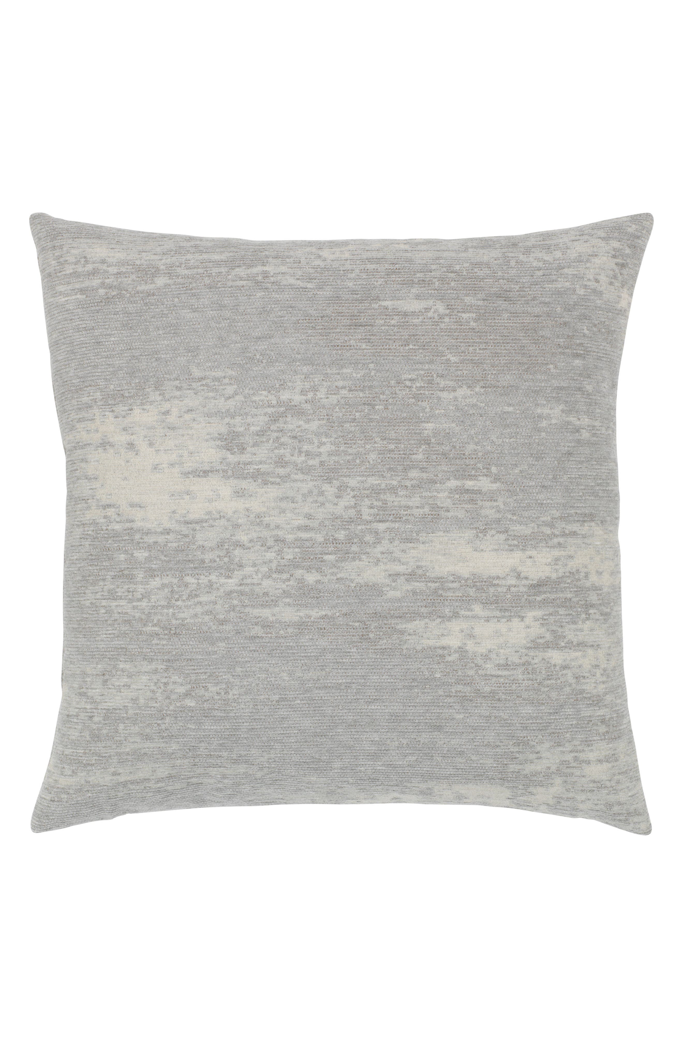 Distressed Granite Indoor/Outdoor Accent Pillow,                         Main,                         color, Grey