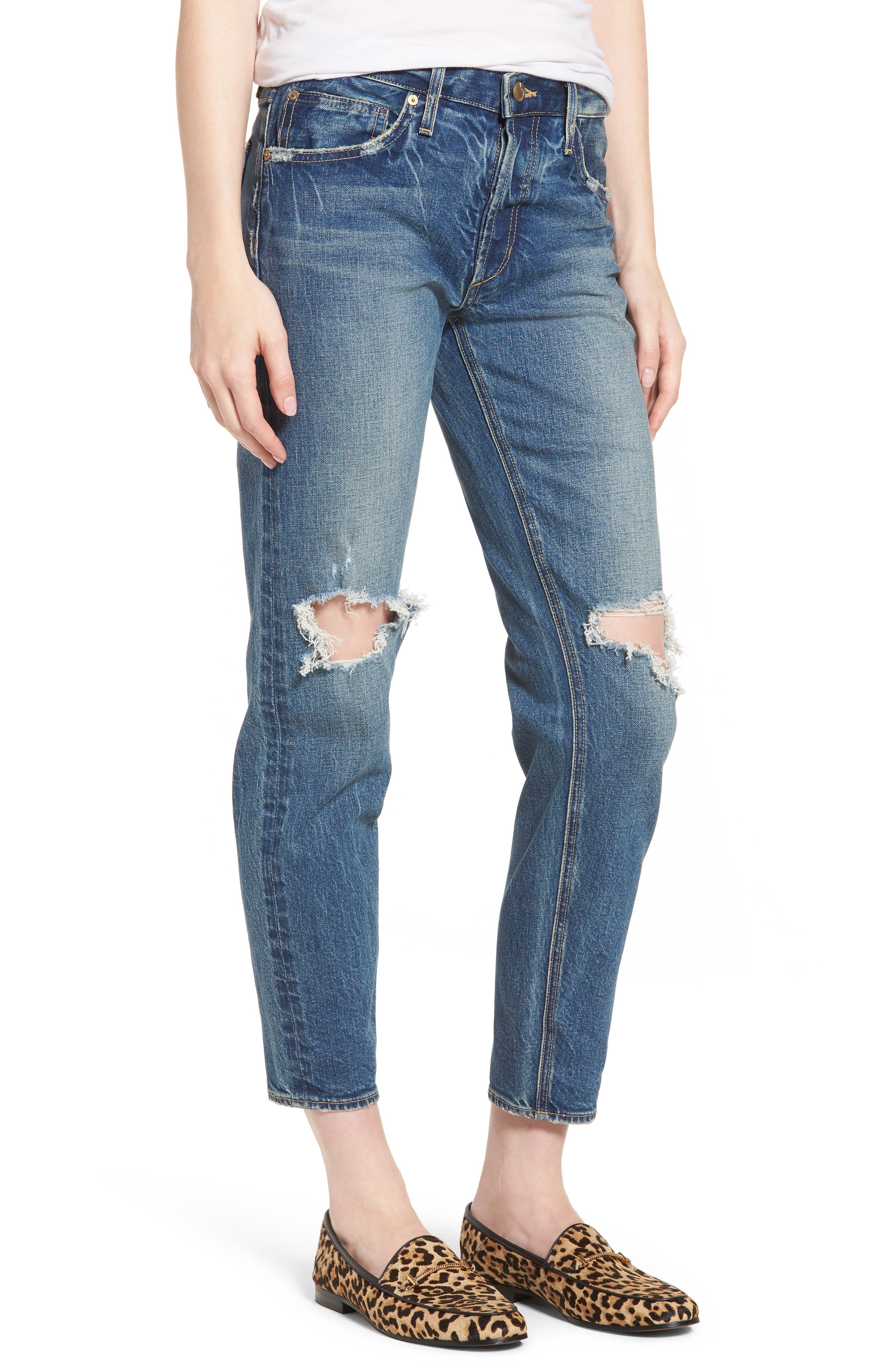 Vintage Icon Ankle Skinny Jeans,                             Main thumbnail 1, color,                             Bailee