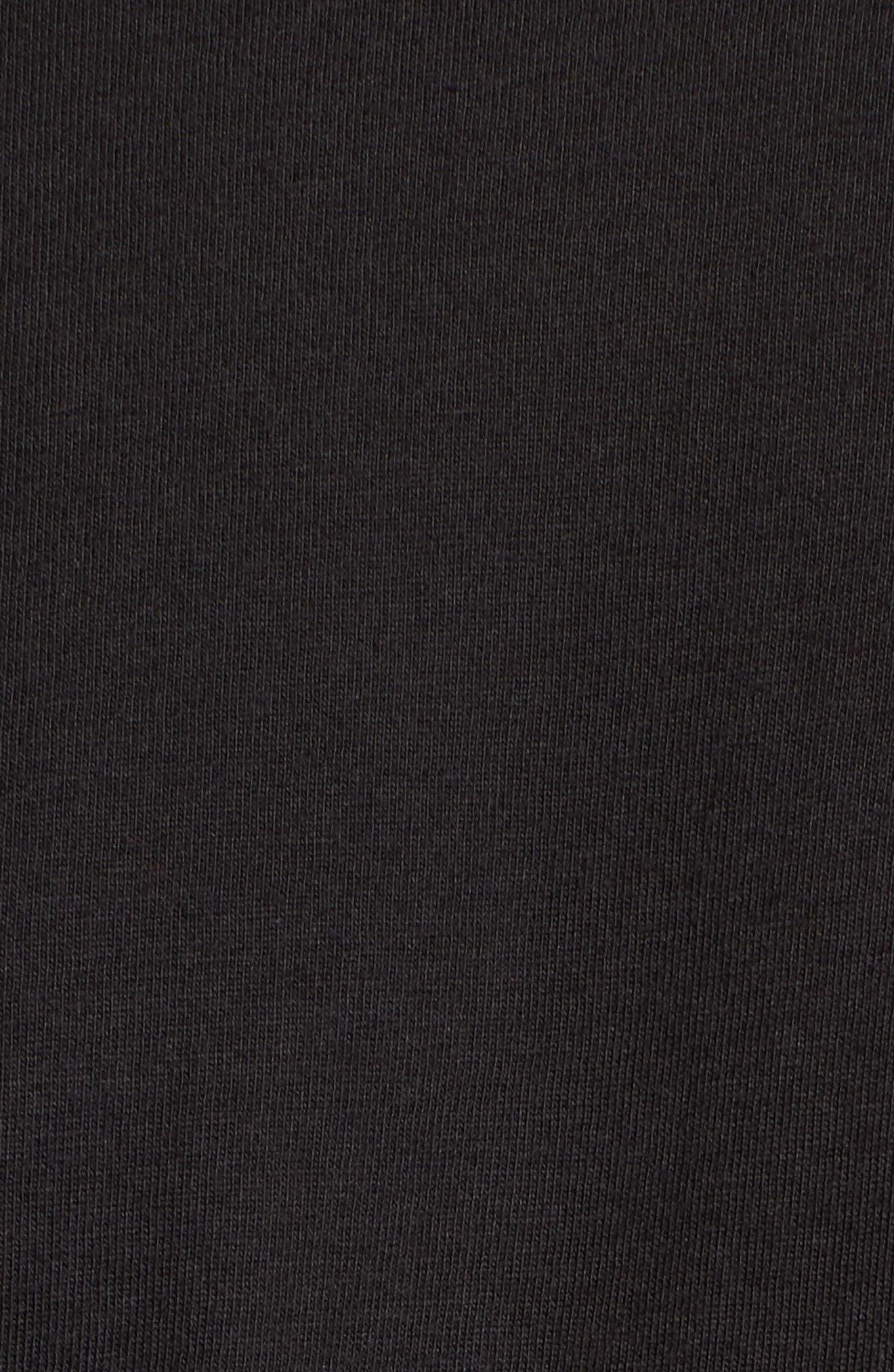 Surfin' Bird T-Shirt,                             Alternate thumbnail 5, color,                             Black