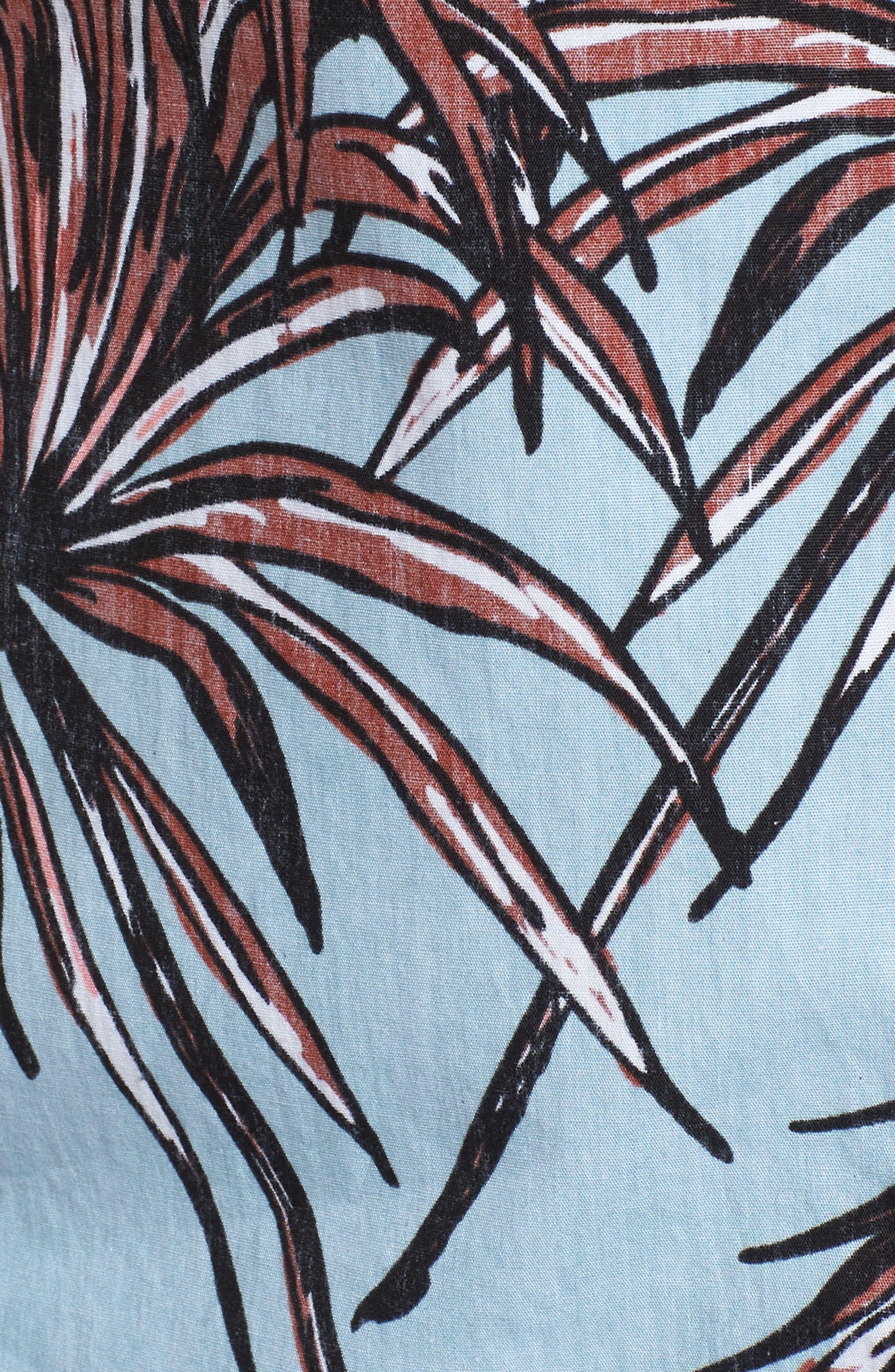 Koko Shirt,                             Alternate thumbnail 5, color,                             Ocean Bliss