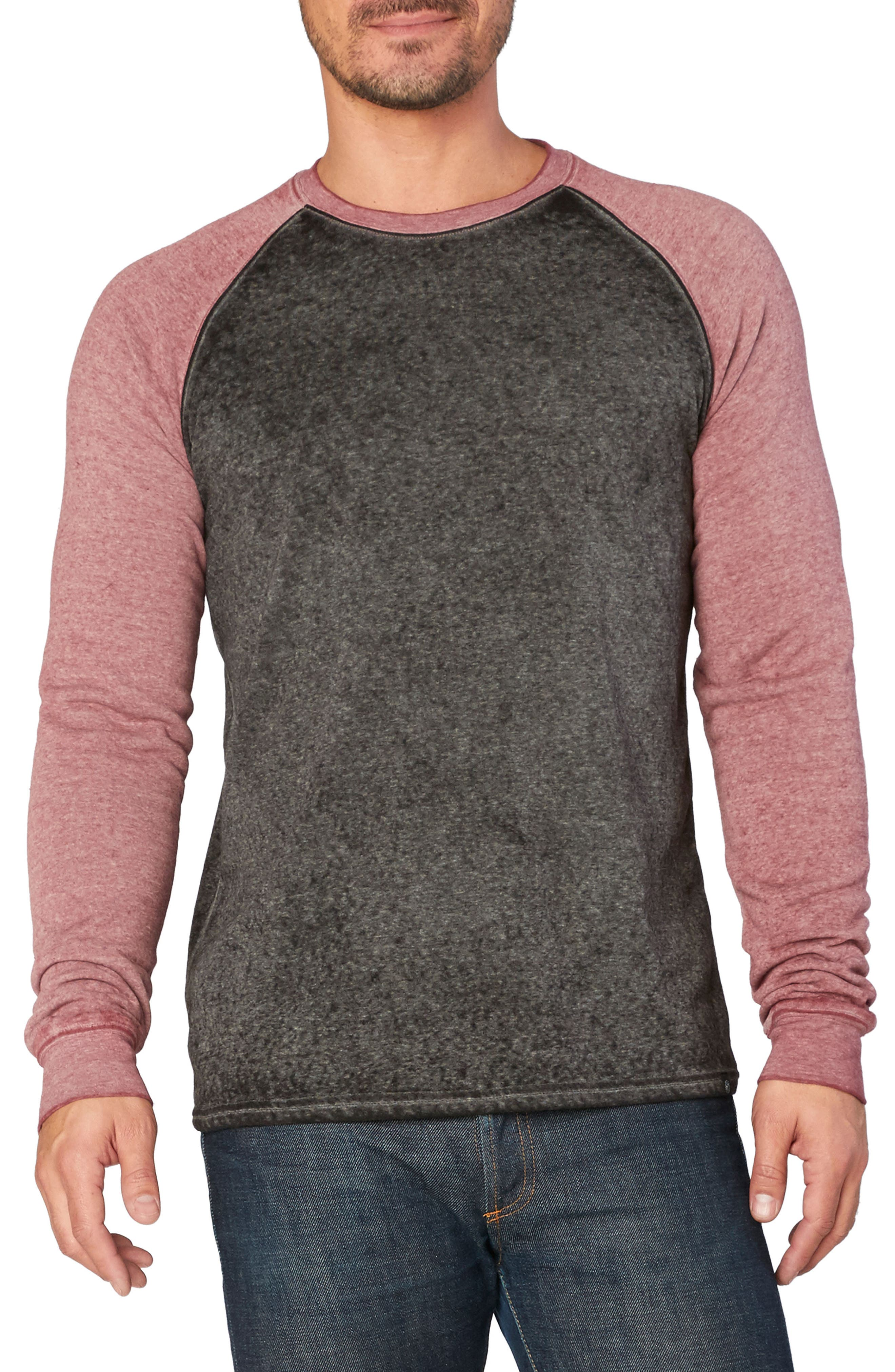 Threads for Thought Washed Raglan Sleeve Sweatshirt