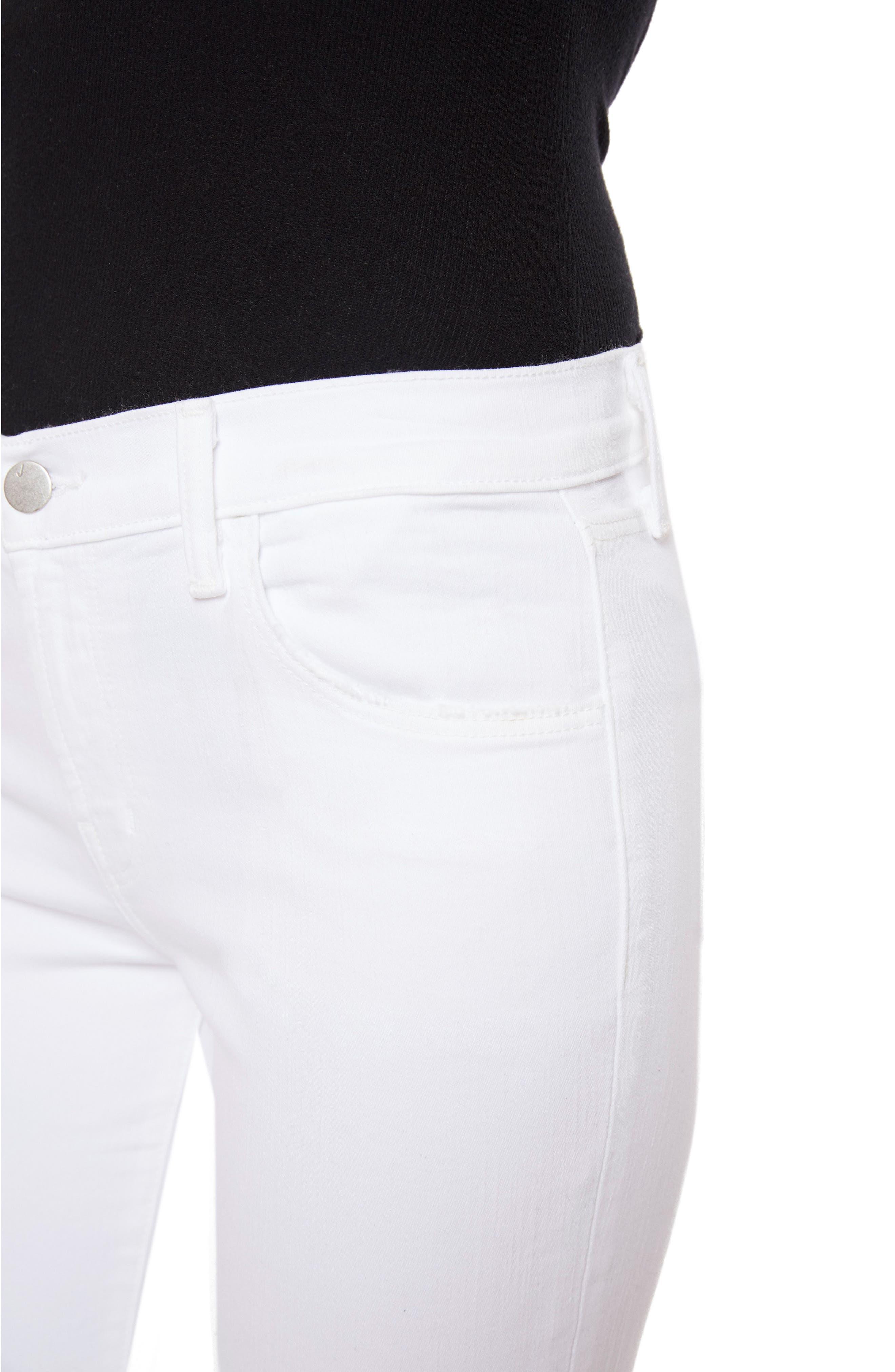 835 Capri Skinny Jeans,                             Alternate thumbnail 4, color,                             Underexposed