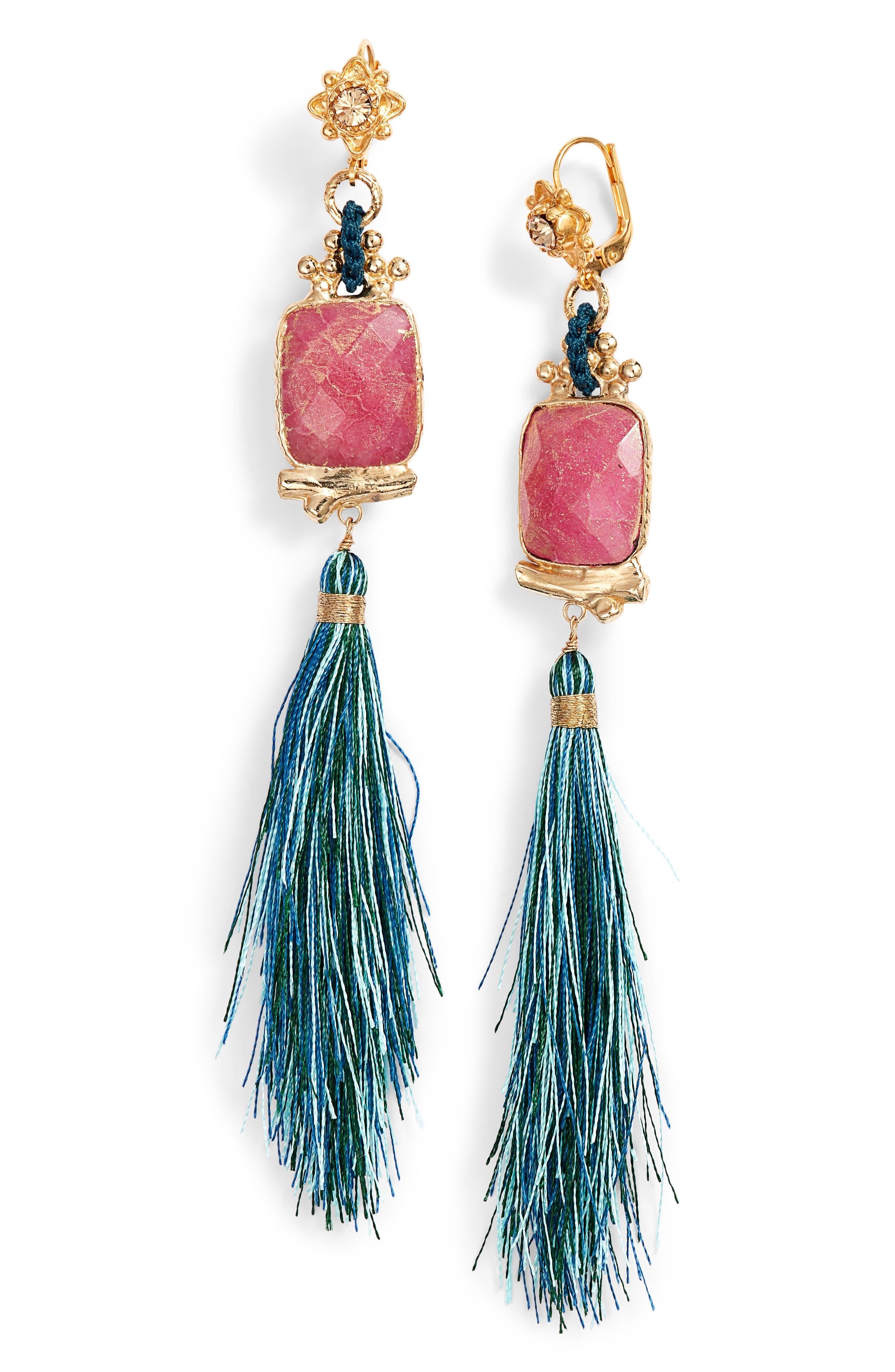 Gas Bijoux Poeme Drop Earrings