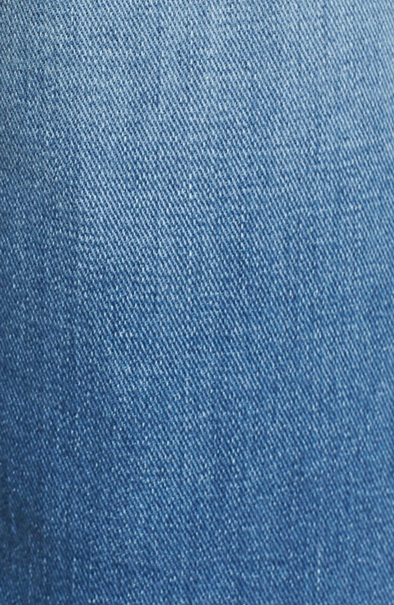 Alternate Image 5  - True Religion Brand Jeans Ricky Flap Pocket Shorts