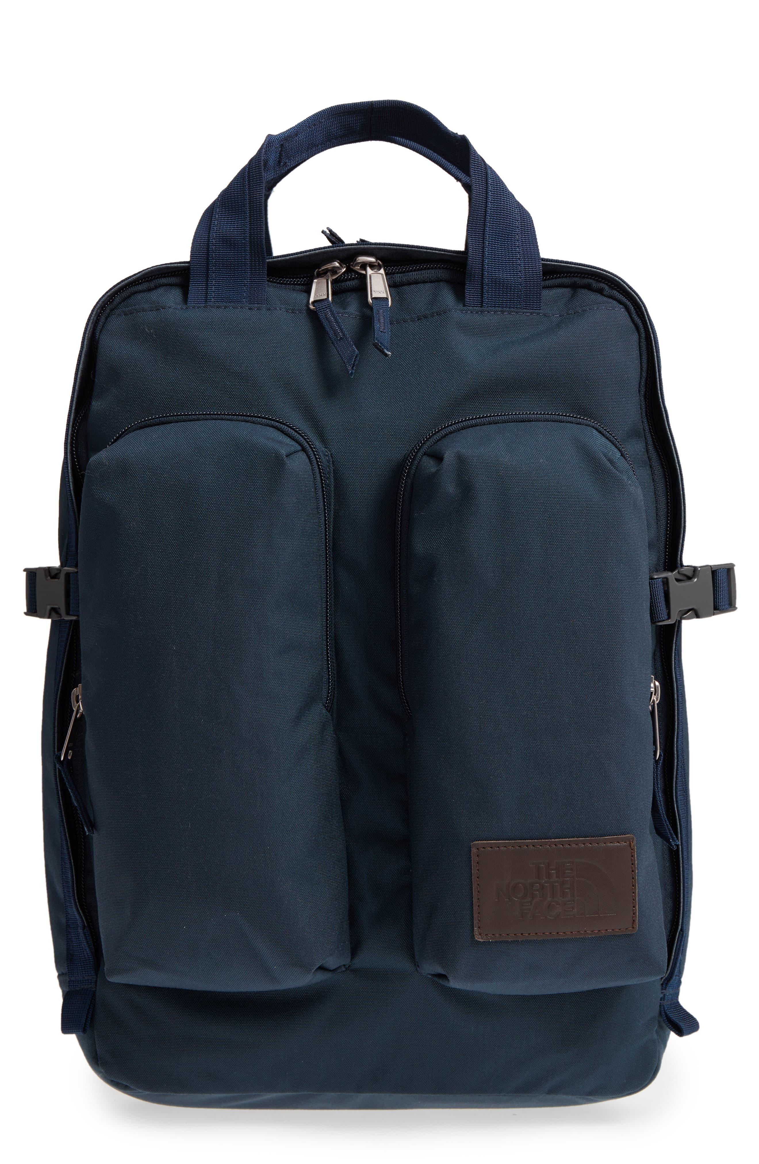 Mini Crevasse Backpack,                         Main,                         color, Urban Navy Heather/ Urban Navy