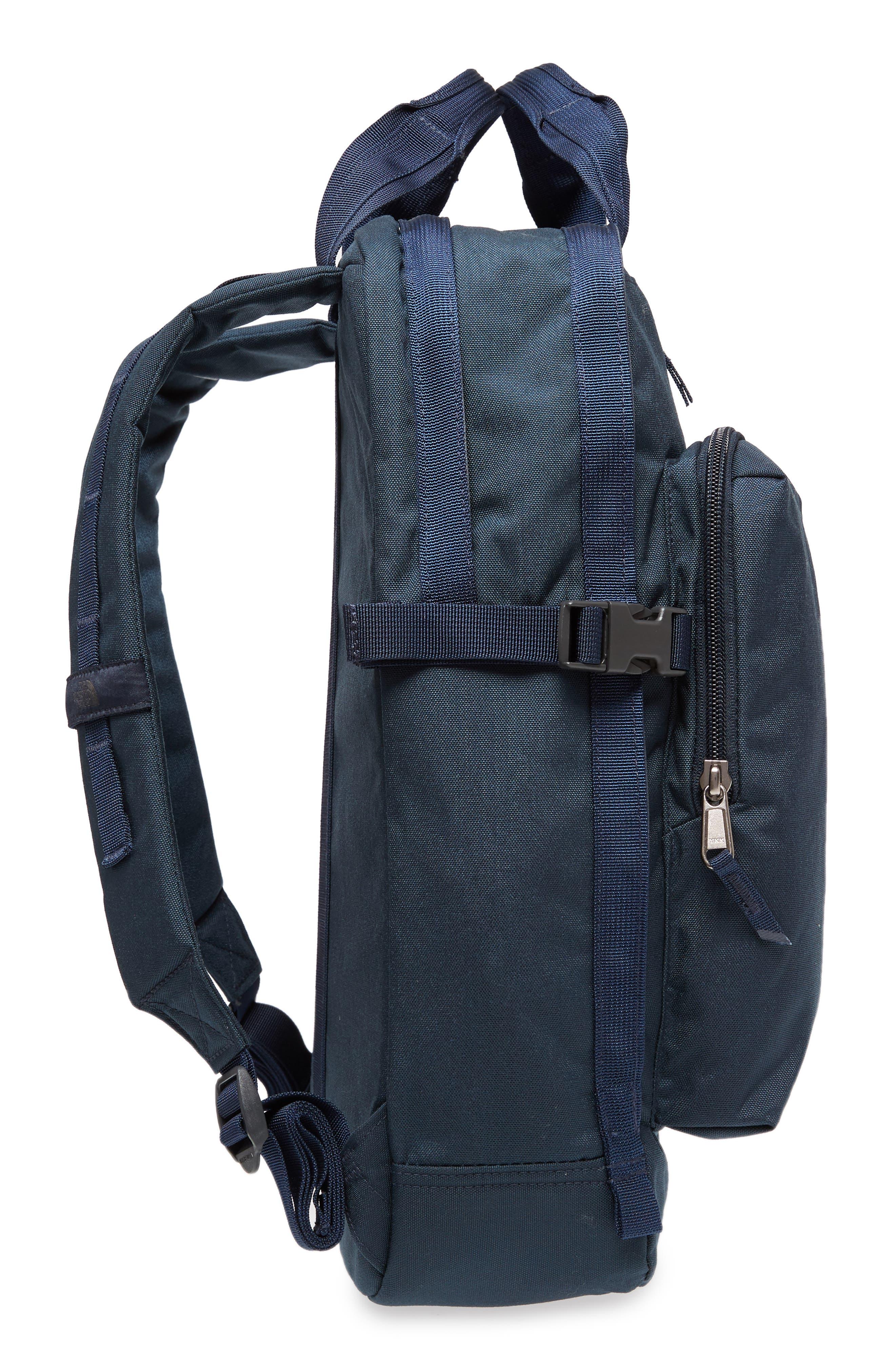 Mini Crevasse Backpack,                             Alternate thumbnail 3, color,                             Urban Navy Heather/ Urban Navy