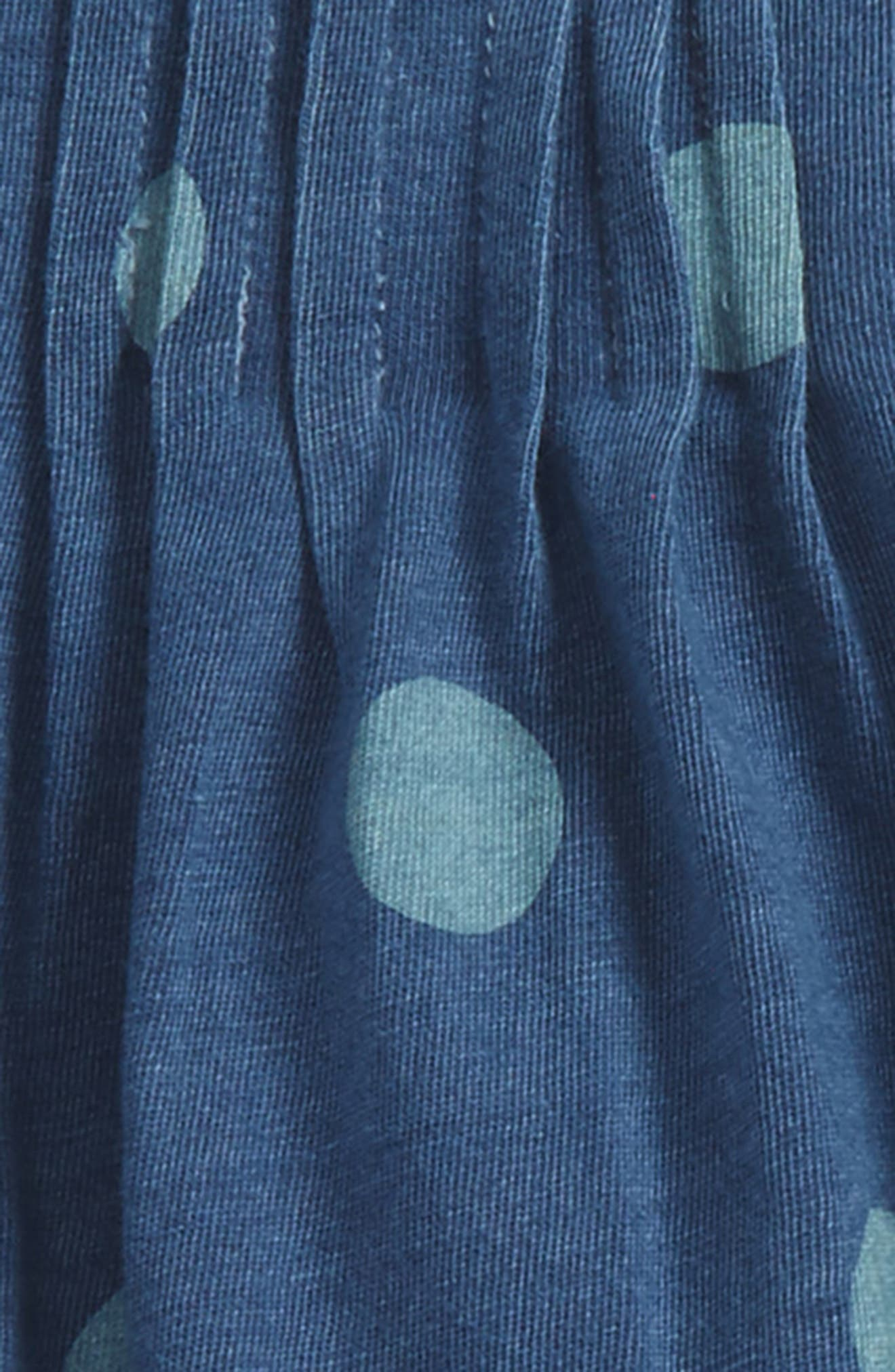 Tunic & Leggings Set,                             Alternate thumbnail 2, color,                             Blue Indigo Dot