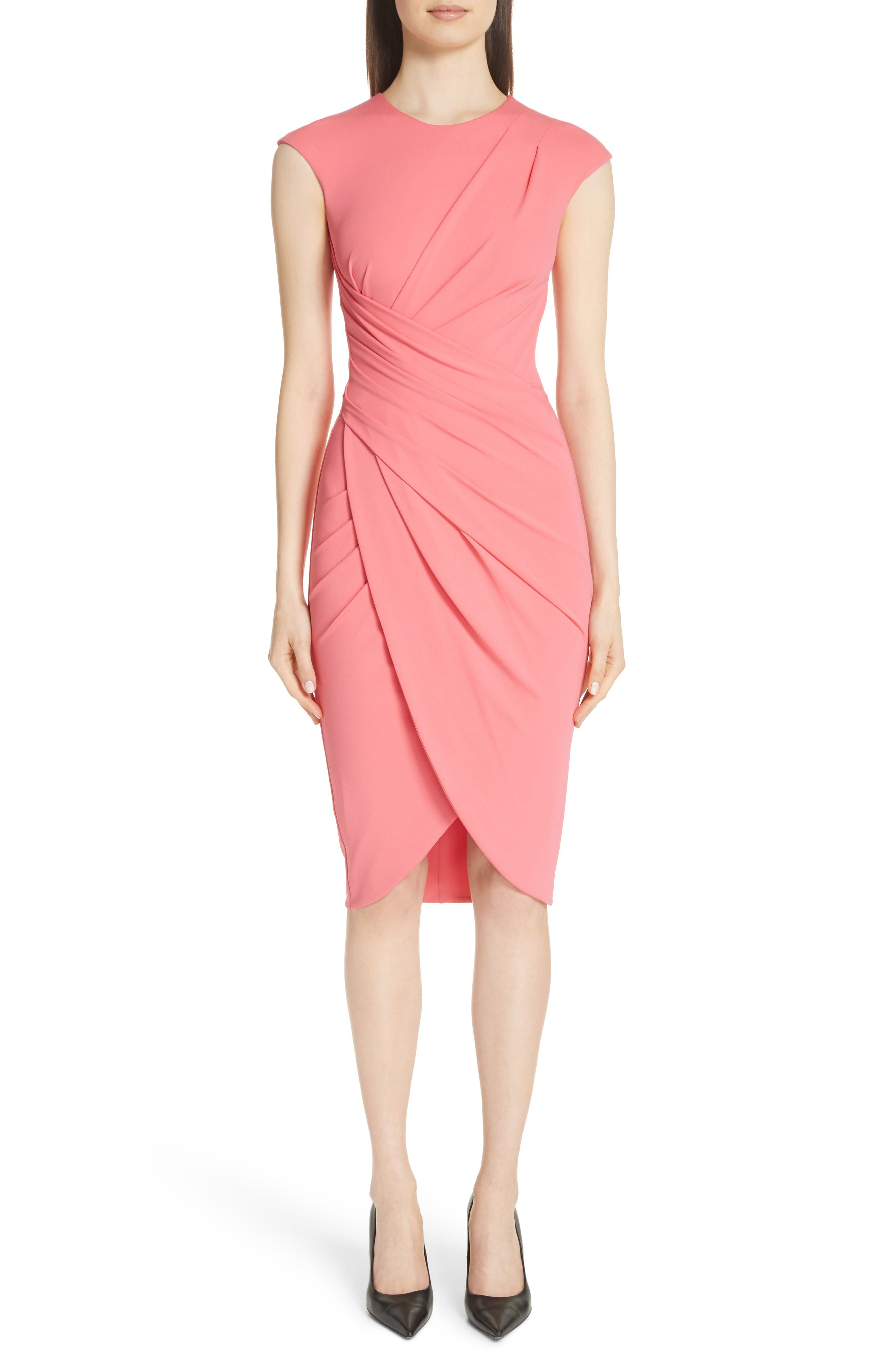 Michael Kors Ruched Tulip Dress