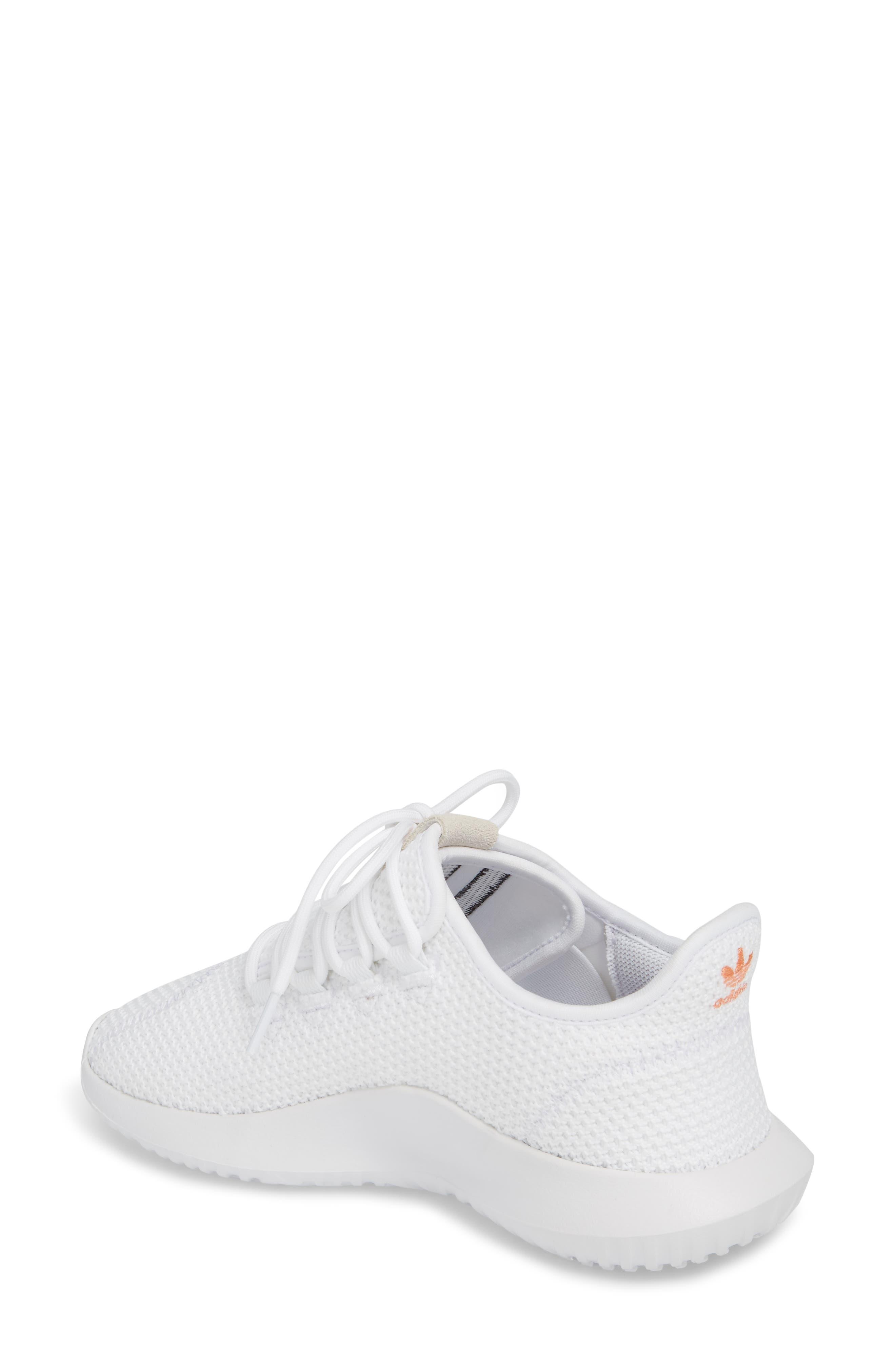Tubular Shadow Sneaker,                             Alternate thumbnail 2, color,                             White/ White/ Core Black