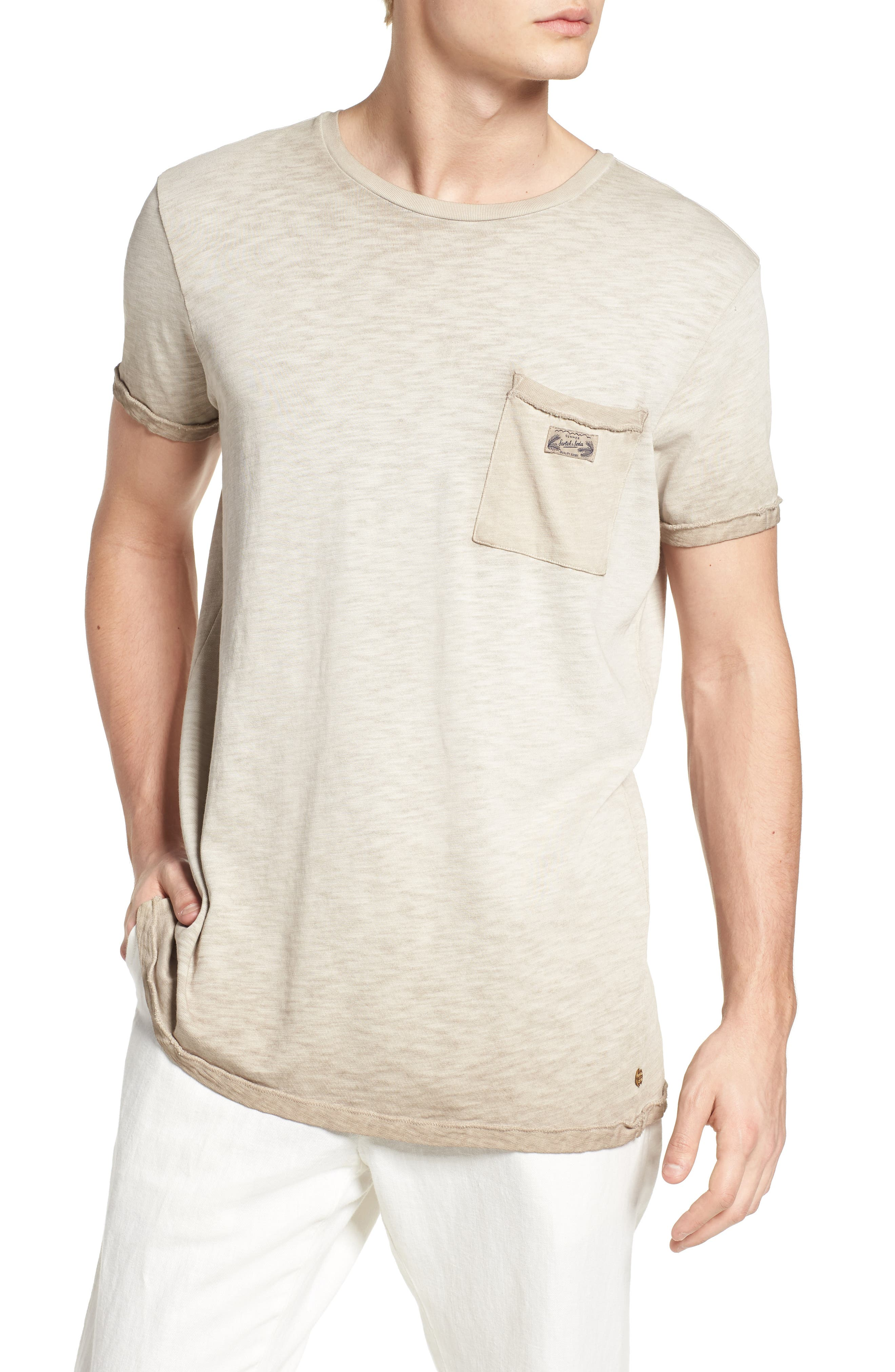 Scotch & Soda Oil Washed T-Shirt